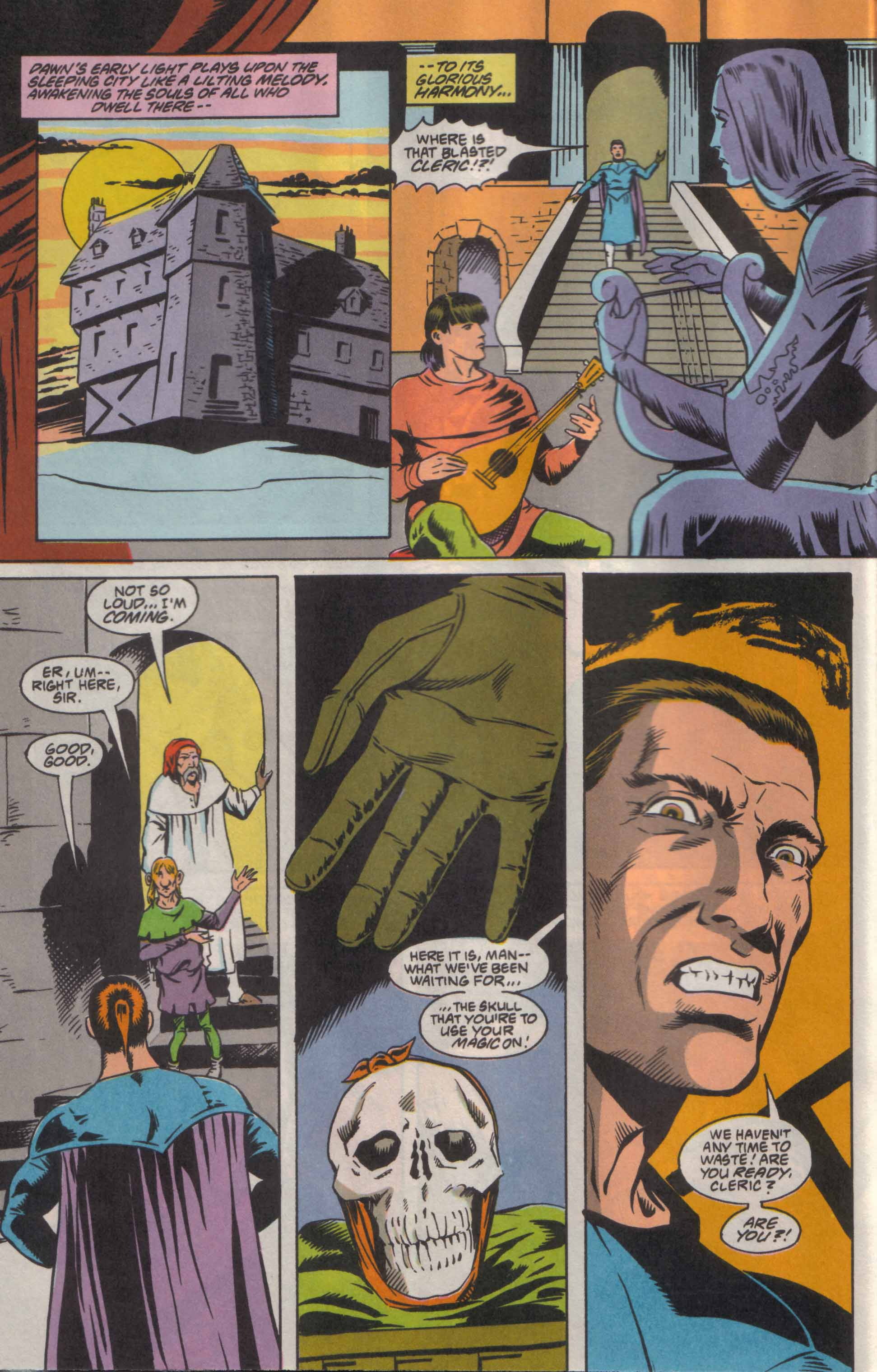 Read online Advanced Dungeons & Dragons comic -  Issue #8 - 5
