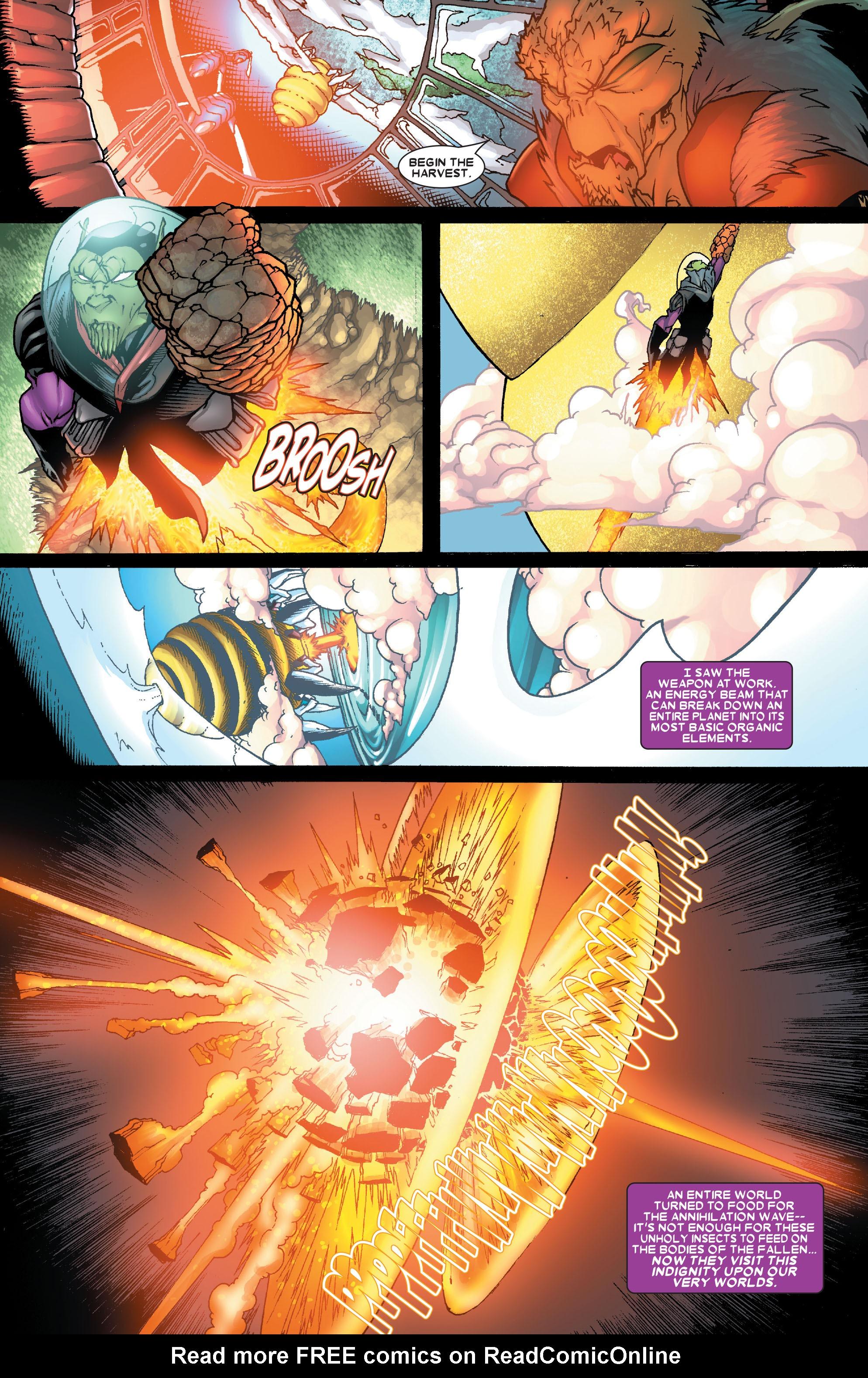 Read online Annihilation: Super-Skrull comic -  Issue #1 - 11