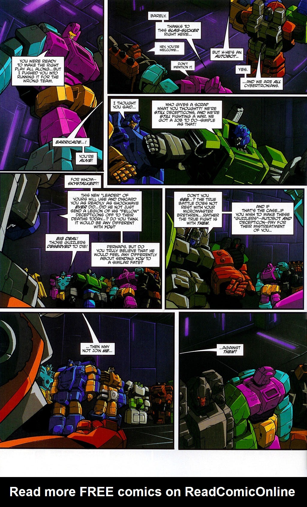 Read online Transformers: Micromasters comic -  Issue #4 - 20