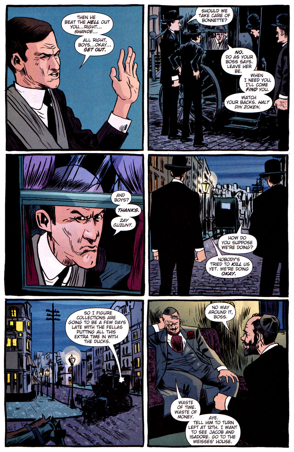Read online Caper comic -  Issue #3 - 20
