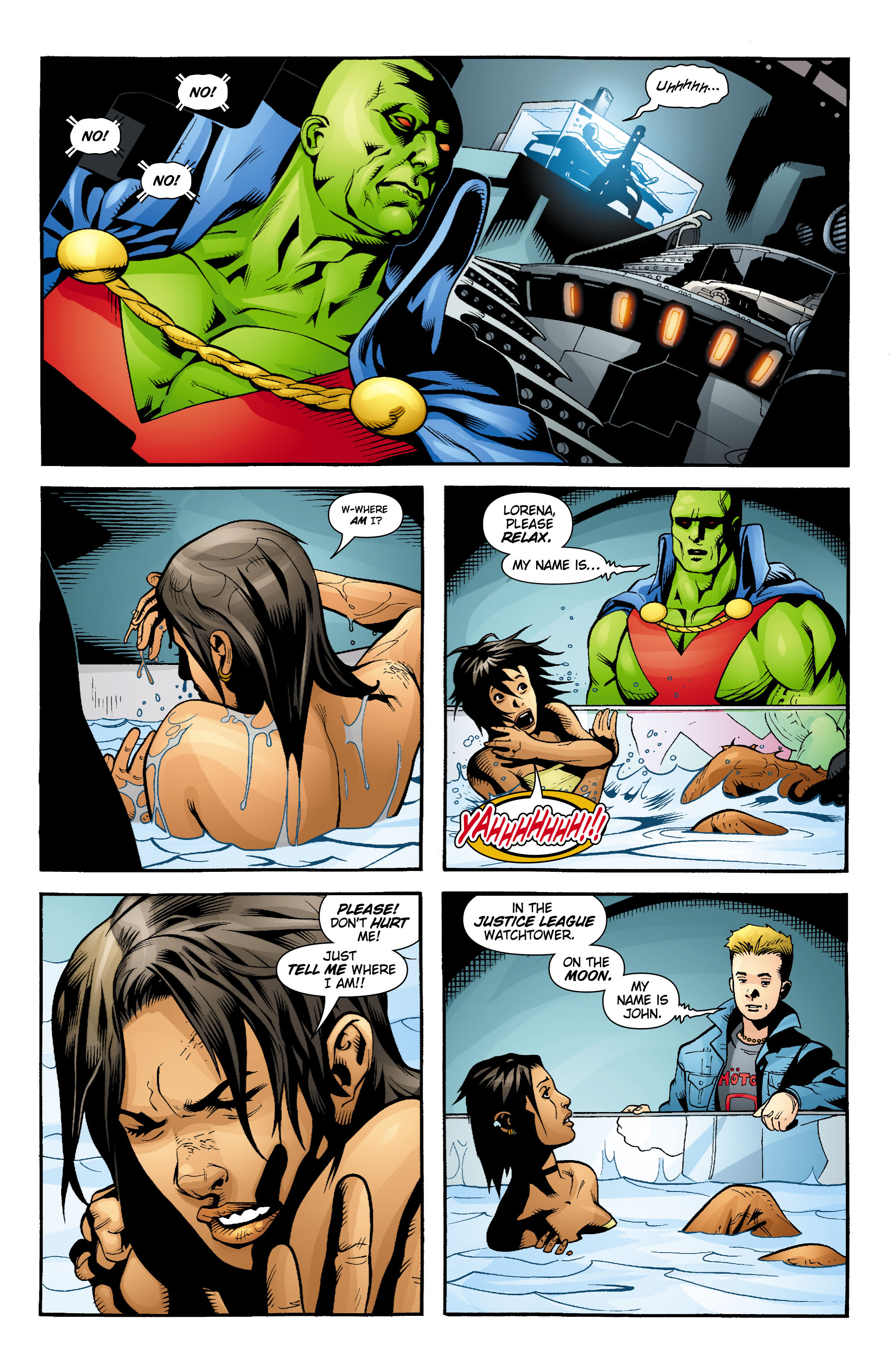 Read online Aquaman (2003) comic -  Issue #17 - 12