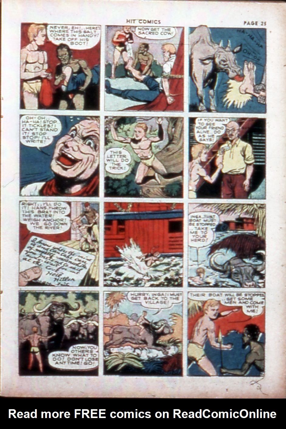 Read online Hit Comics comic -  Issue #14 - 27