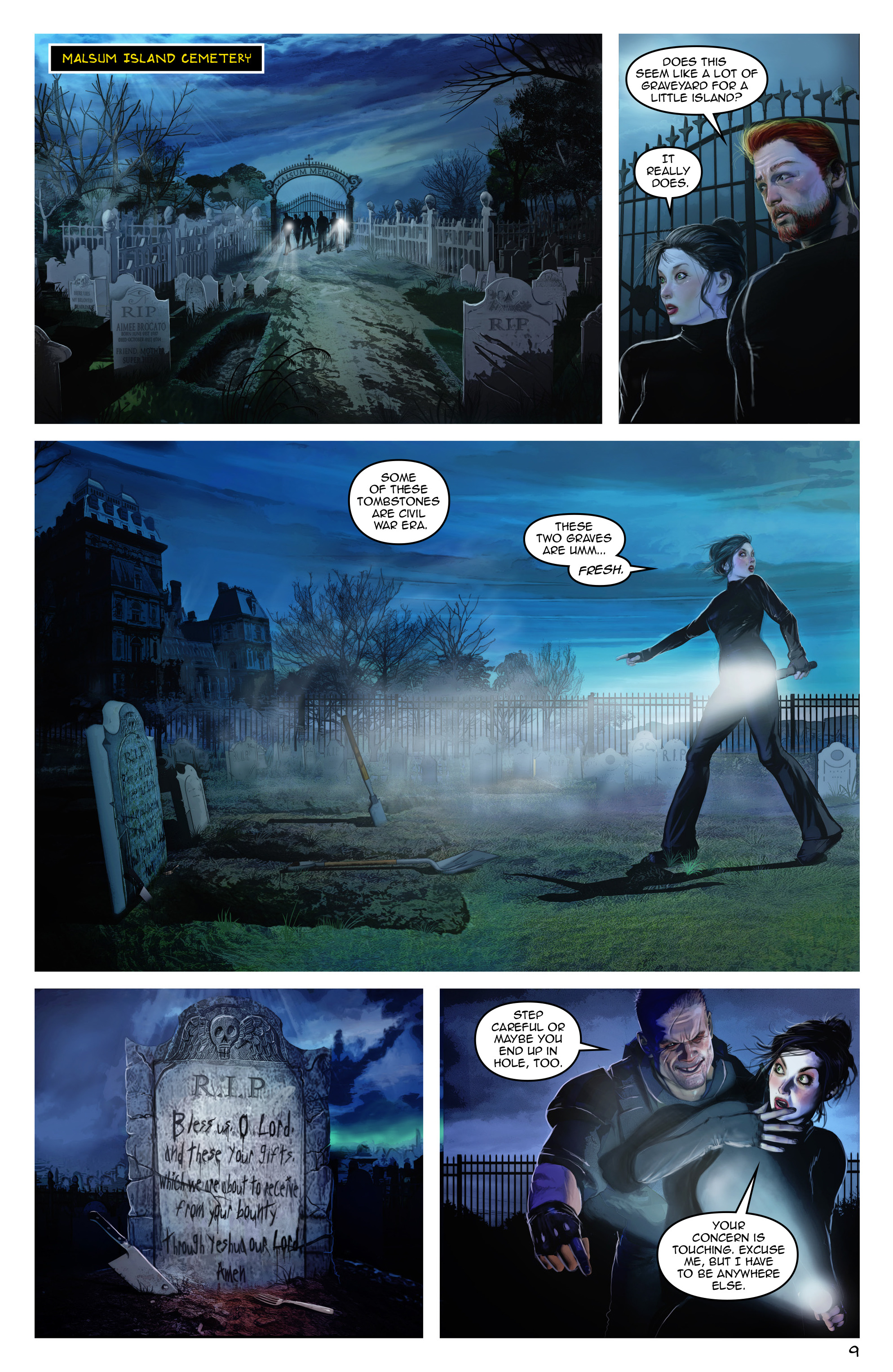 Read online Escape from Jesus Island comic -  Issue #3 - 9
