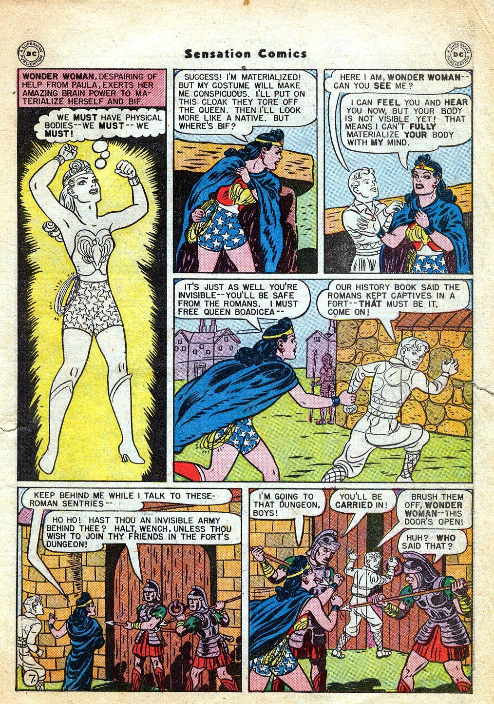 Read online Sensation (Mystery) Comics comic -  Issue #60 - 9