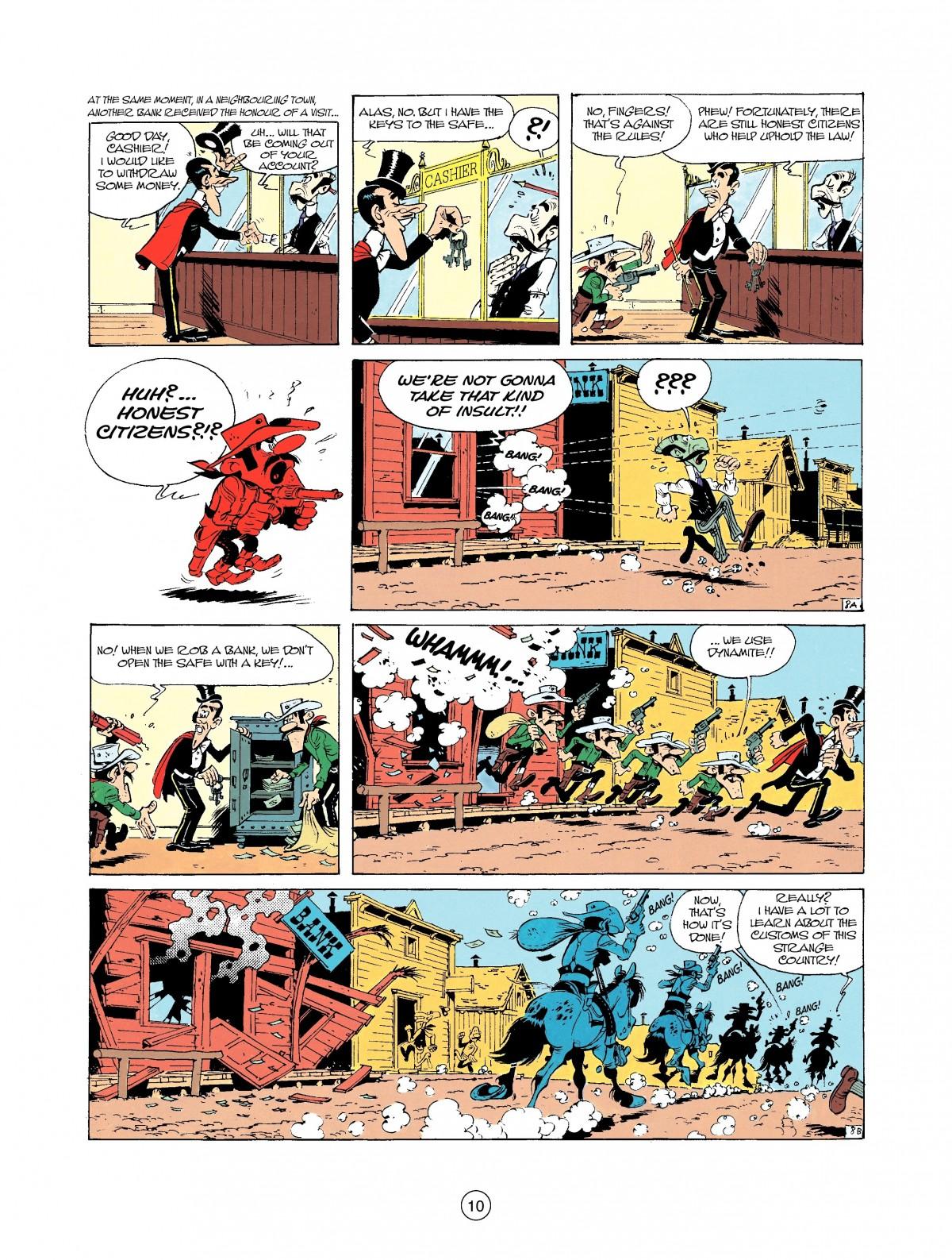 Read online A Lucky Luke Adventure comic -  Issue #37 - 10