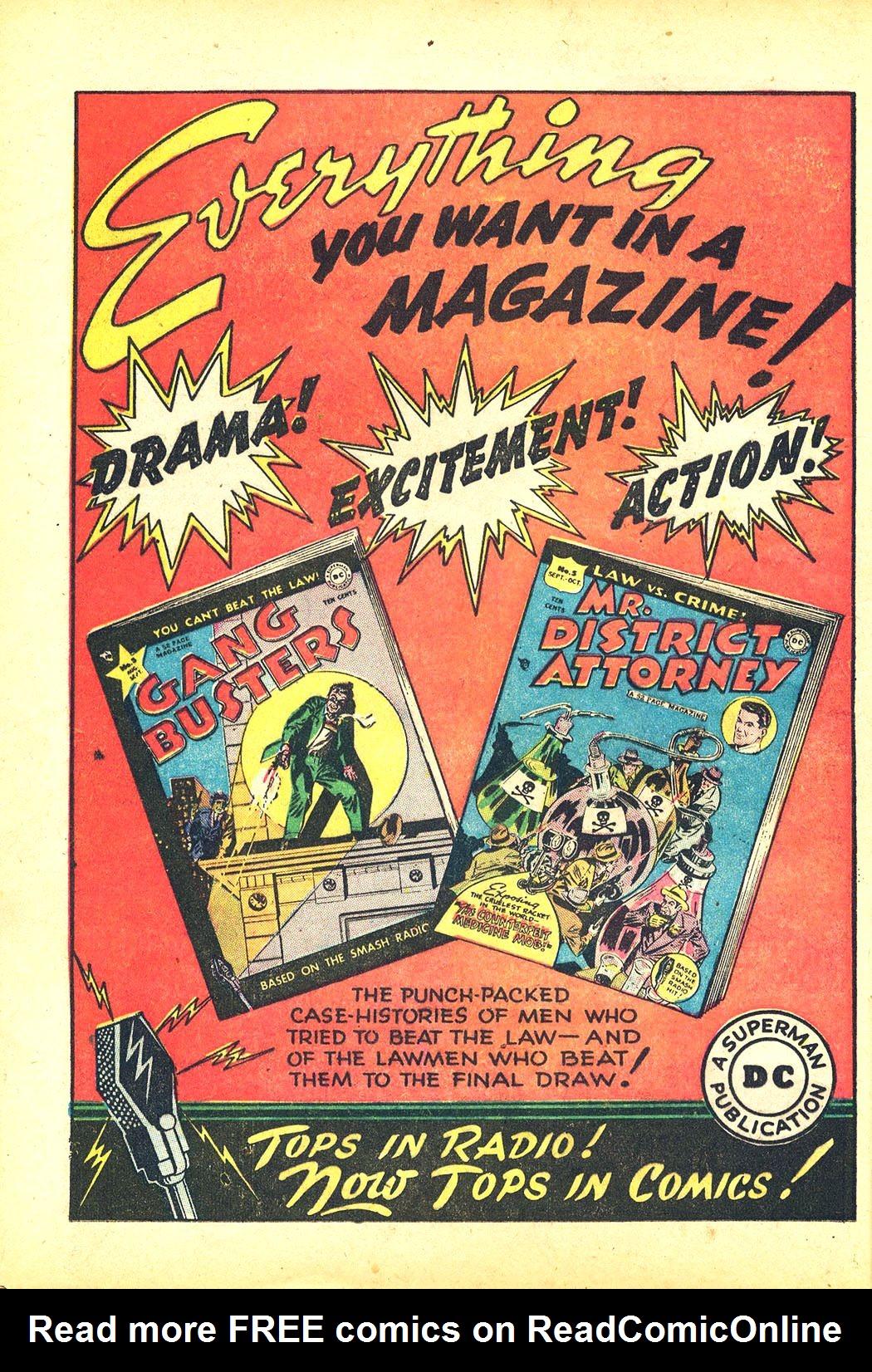 Read online Sensation (Mystery) Comics comic -  Issue #81 - 16