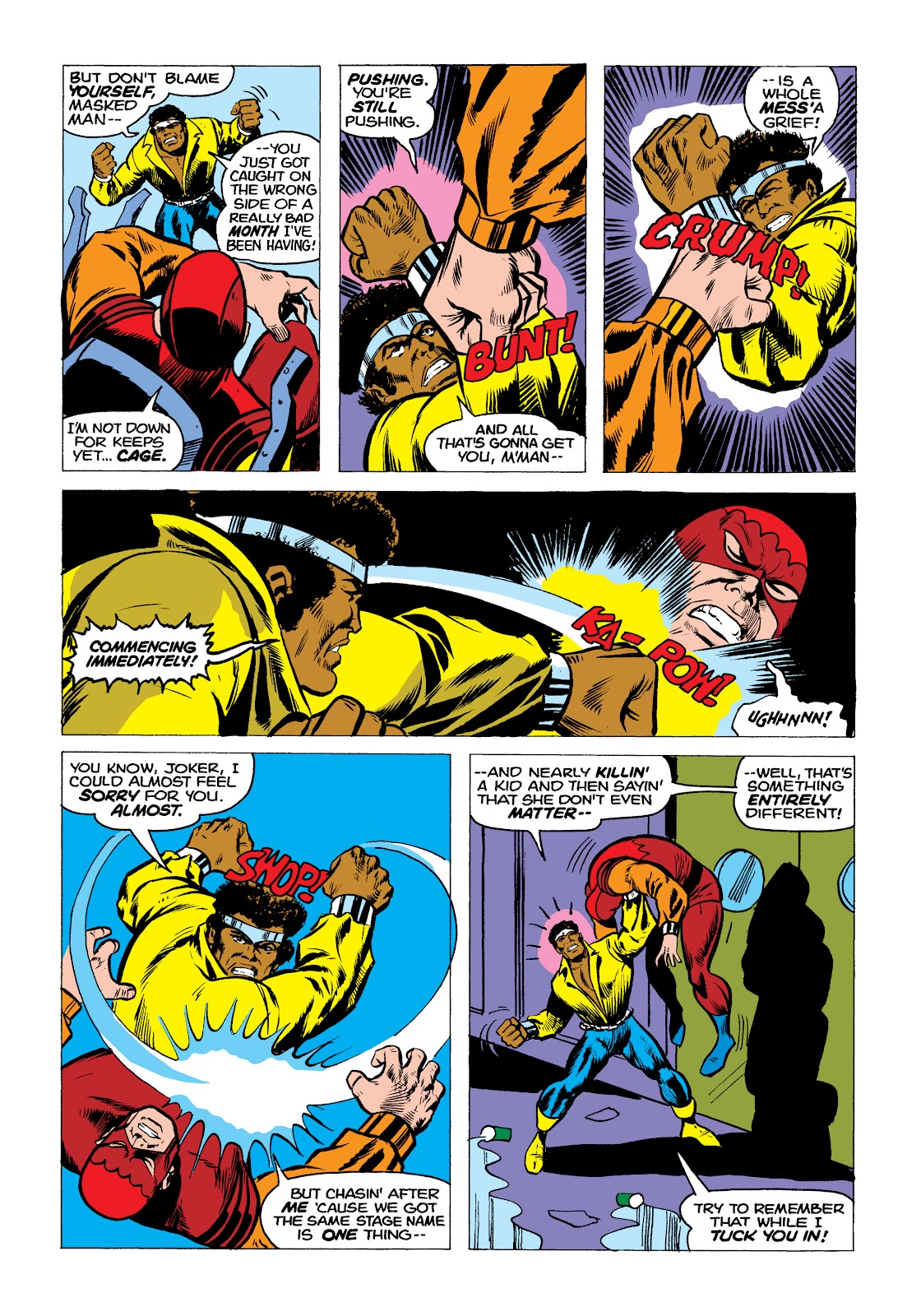 Read online Marvel Masterworks: Luke Cage, Power Man comic -  Issue # TPB 2 (Part 2) - 3