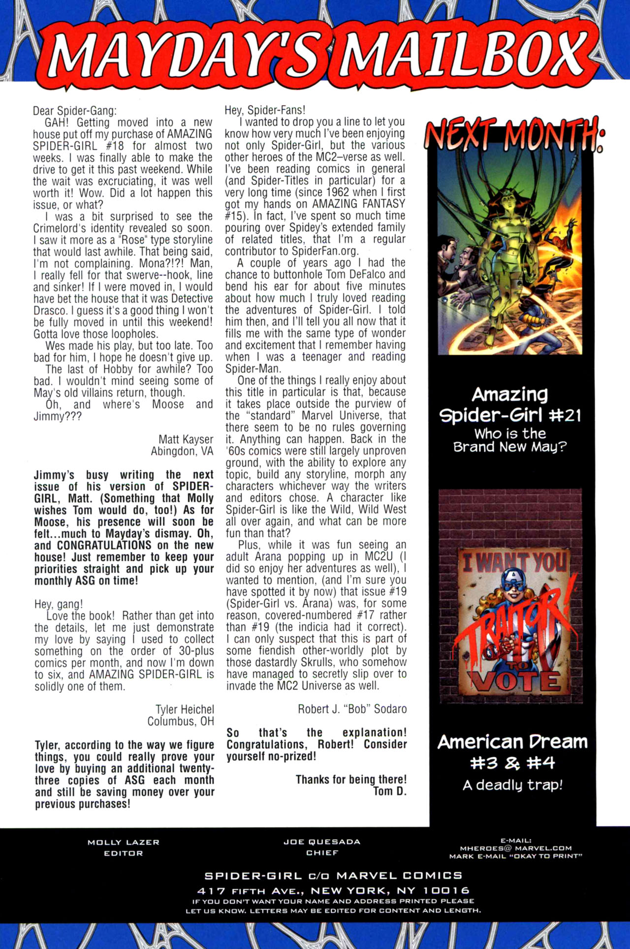 Read online Amazing Spider-Girl comic -  Issue #20 - 24