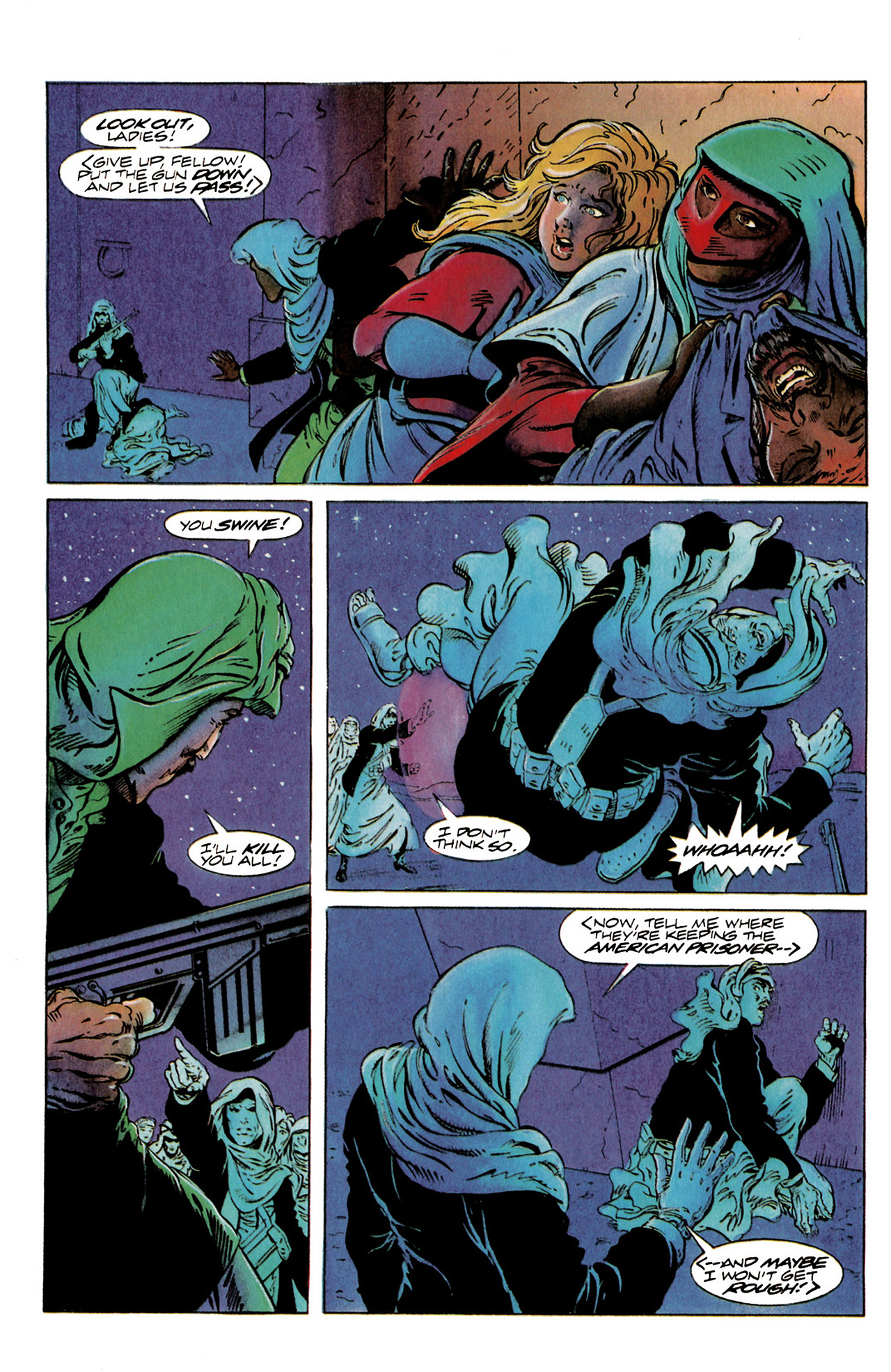 Read online Harbinger (1992) comic -  Issue #20 - 10