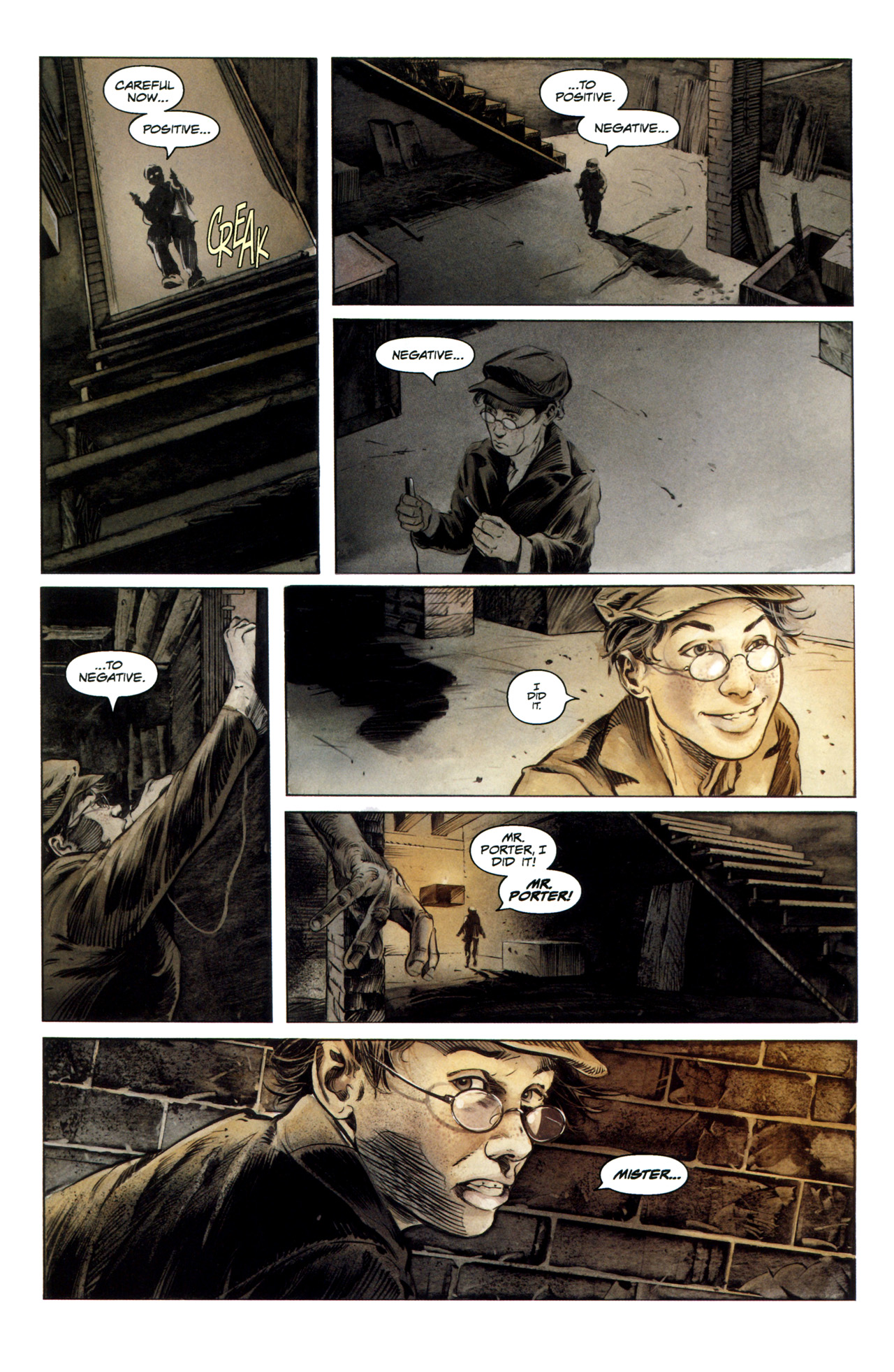 Read online Severed comic -  Issue #1 - 27