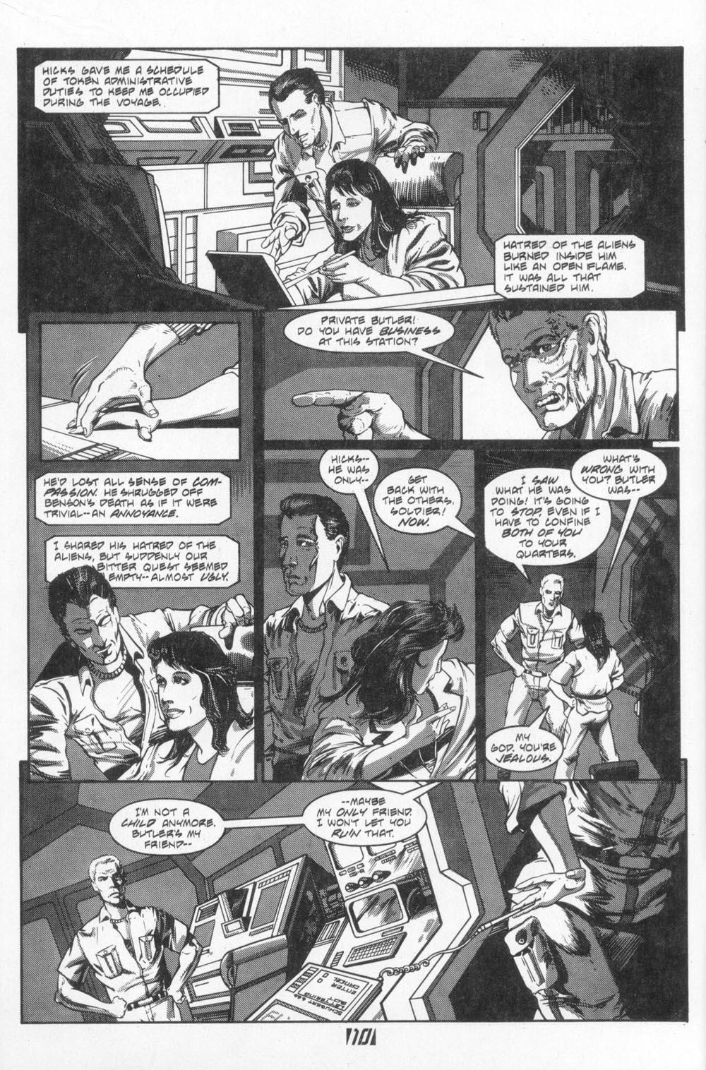 Read online Aliens (1988) comic -  Issue #4 - 12