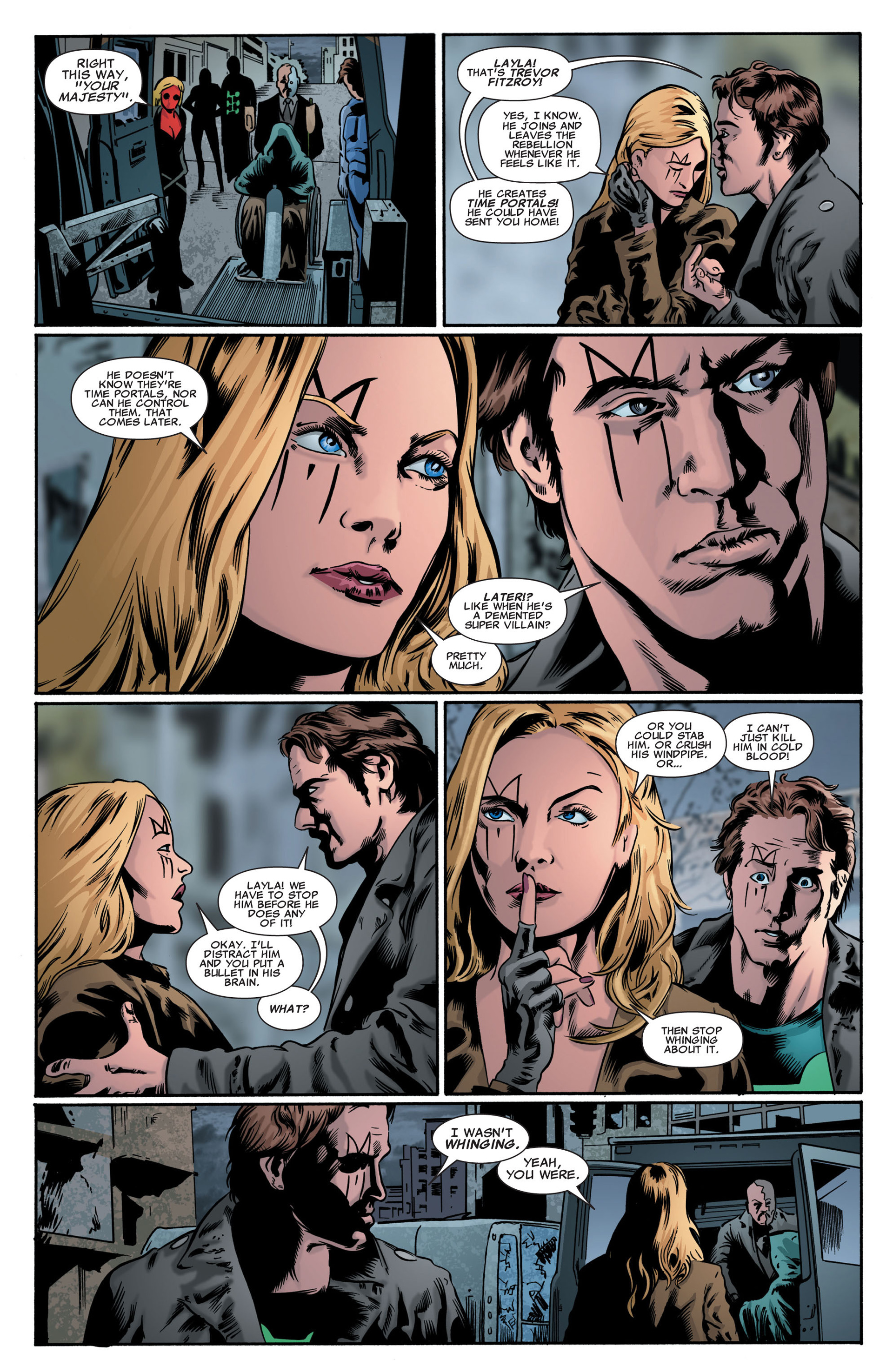 Read online X-Factor (2006) comic -  Issue #47 - 14