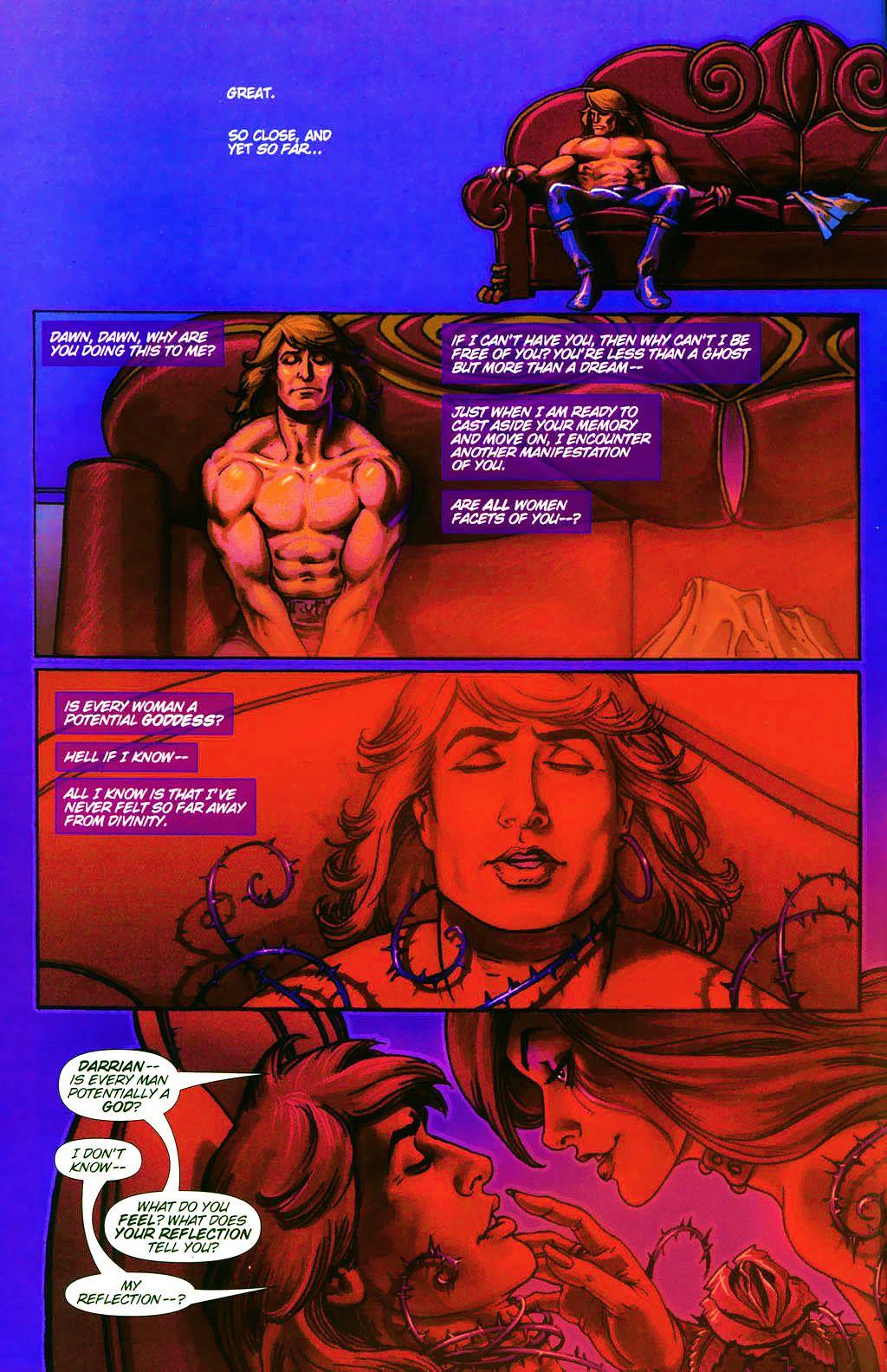 Read online Dawn: Three Tiers comic -  Issue #4 - 6