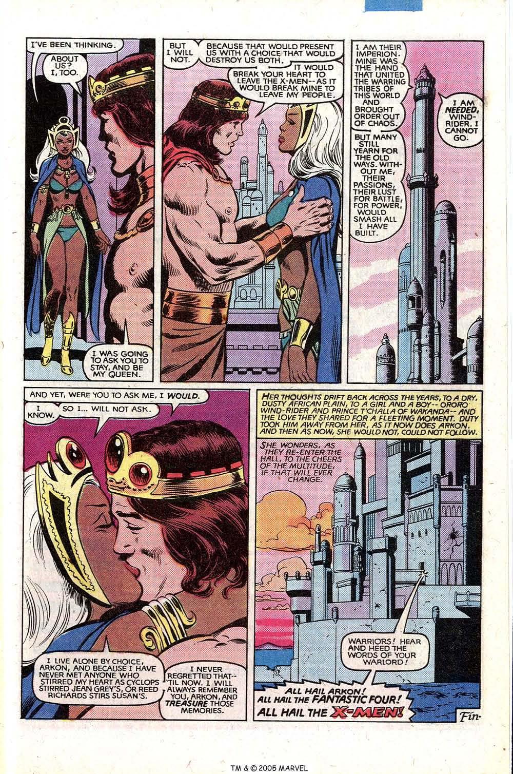Read online Uncanny X-Men (1963) comic -  Issue # _Annual 5 - 49