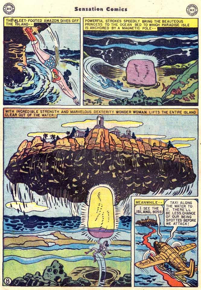 Read online Sensation (Mystery) Comics comic -  Issue #89 - 10