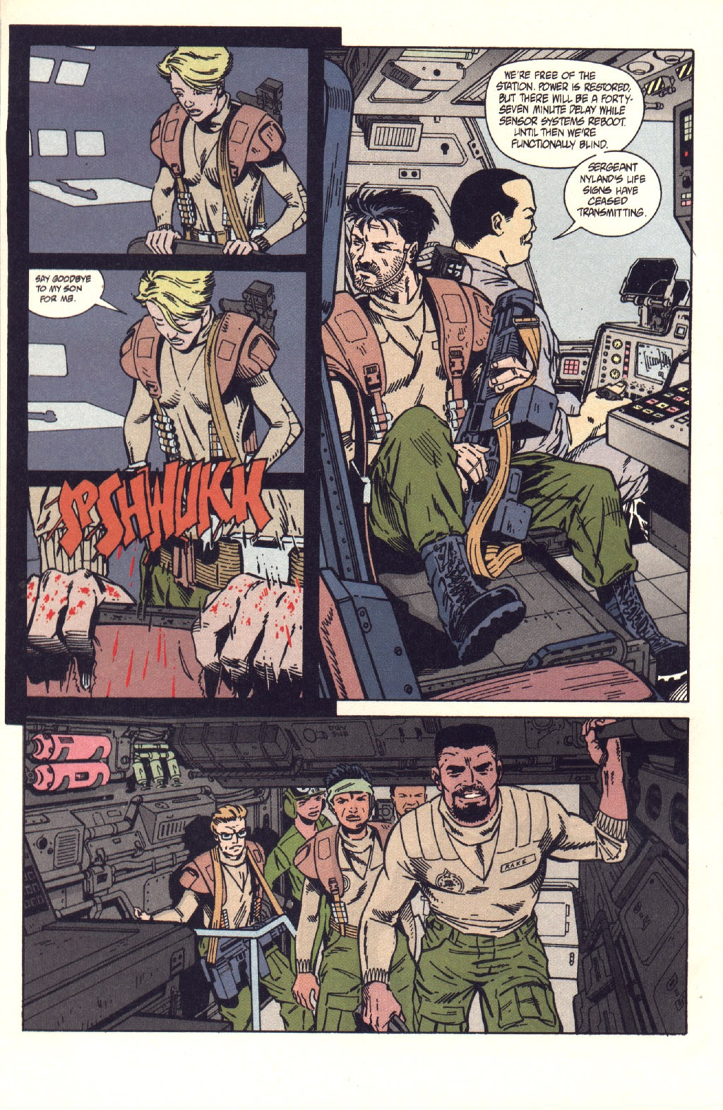 Read online Aliens: Colonial Marines comic -  Issue #9 - 25