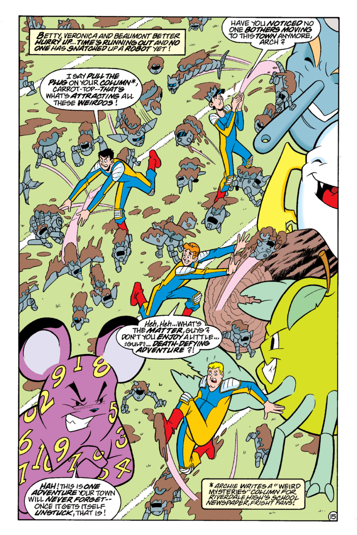 Read online Archie's Weird Mysteries comic -  Issue #17 - 17