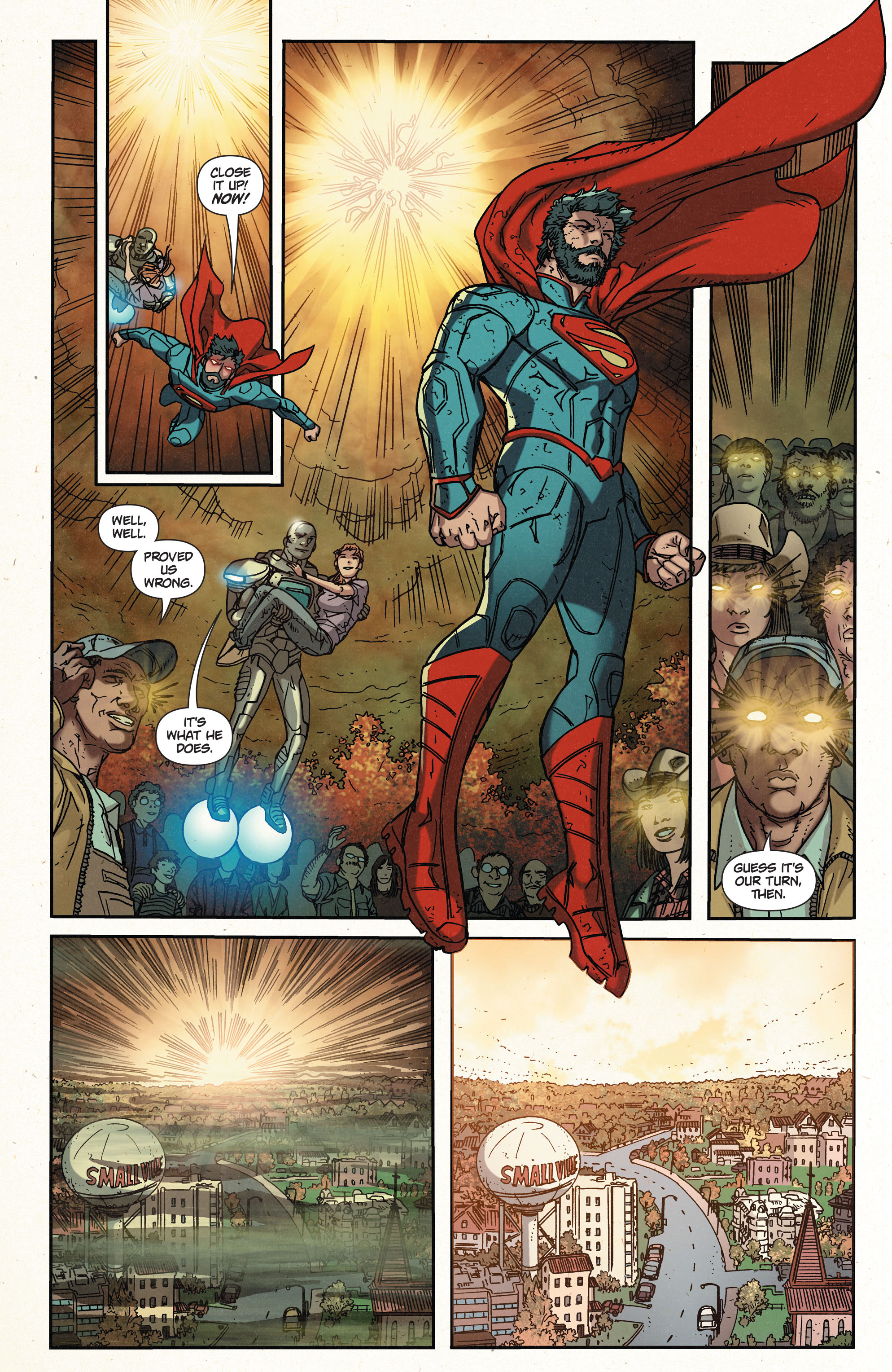 Read online Action Comics (2011) comic -  Issue #39 - 21