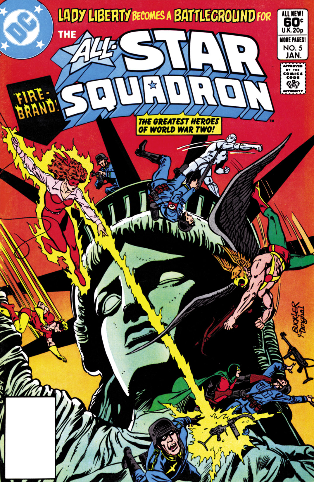 Read online All-Star Squadron comic -  Issue #5 - 1
