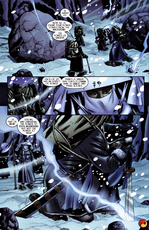 Read online Silken Ghost comic -  Issue #3 - 19