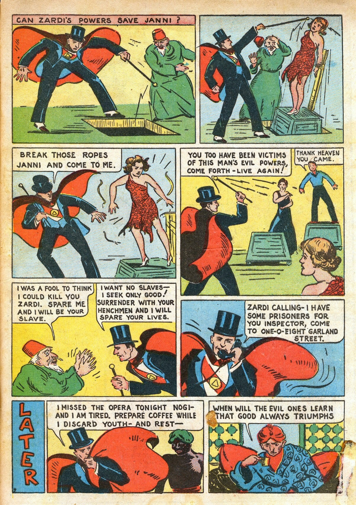 Read online Amazing Man Comics comic -  Issue #16 - 65