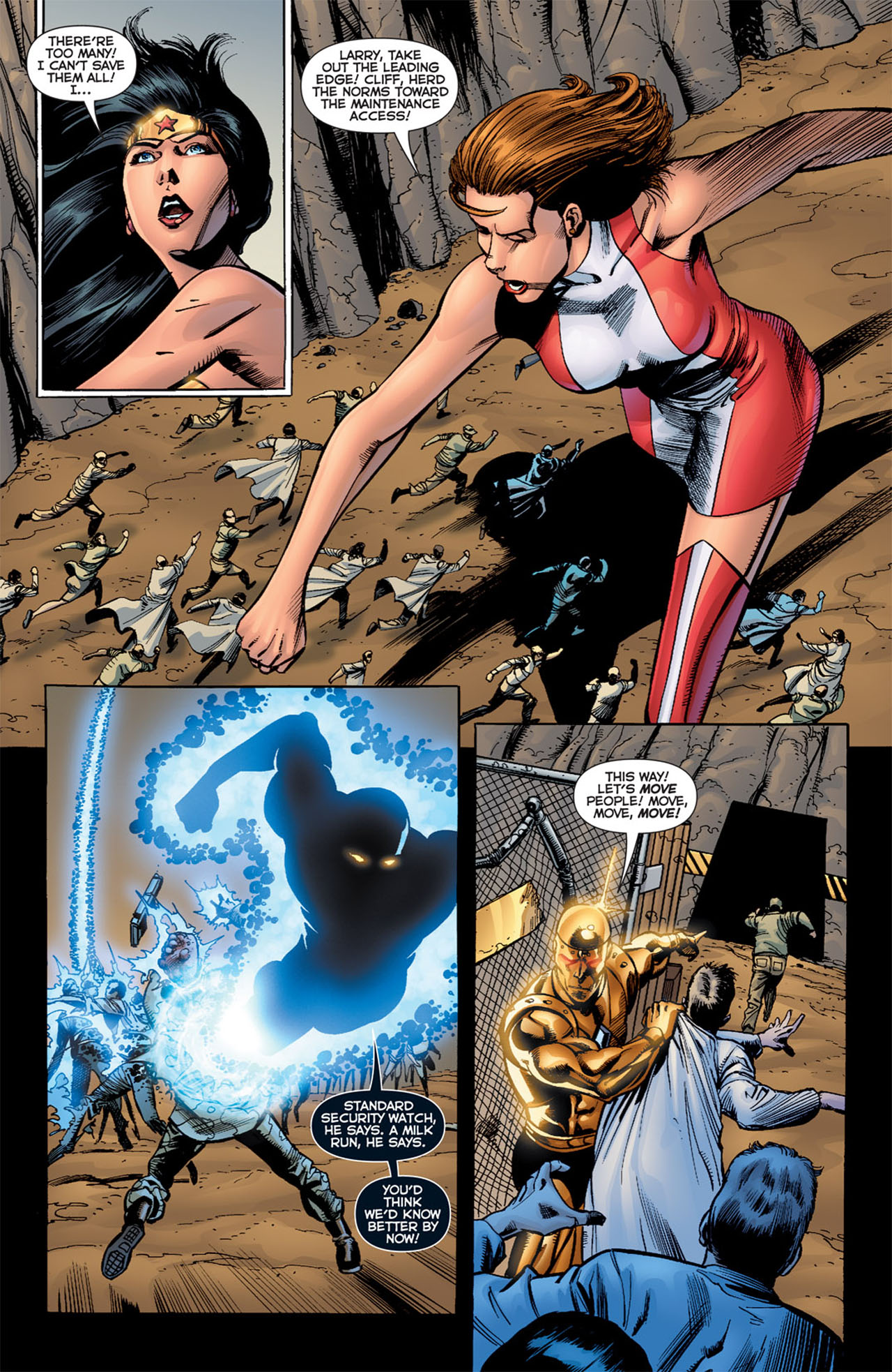 Read online 52 Aftermath: The Four Horsemen comic -  Issue #4 - 5