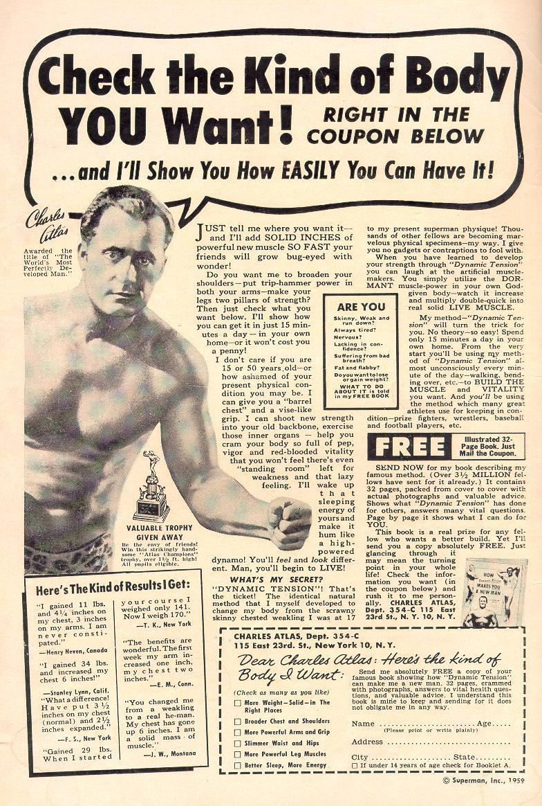 Read online Adventure Comics (1938) comic -  Issue #258 - 2