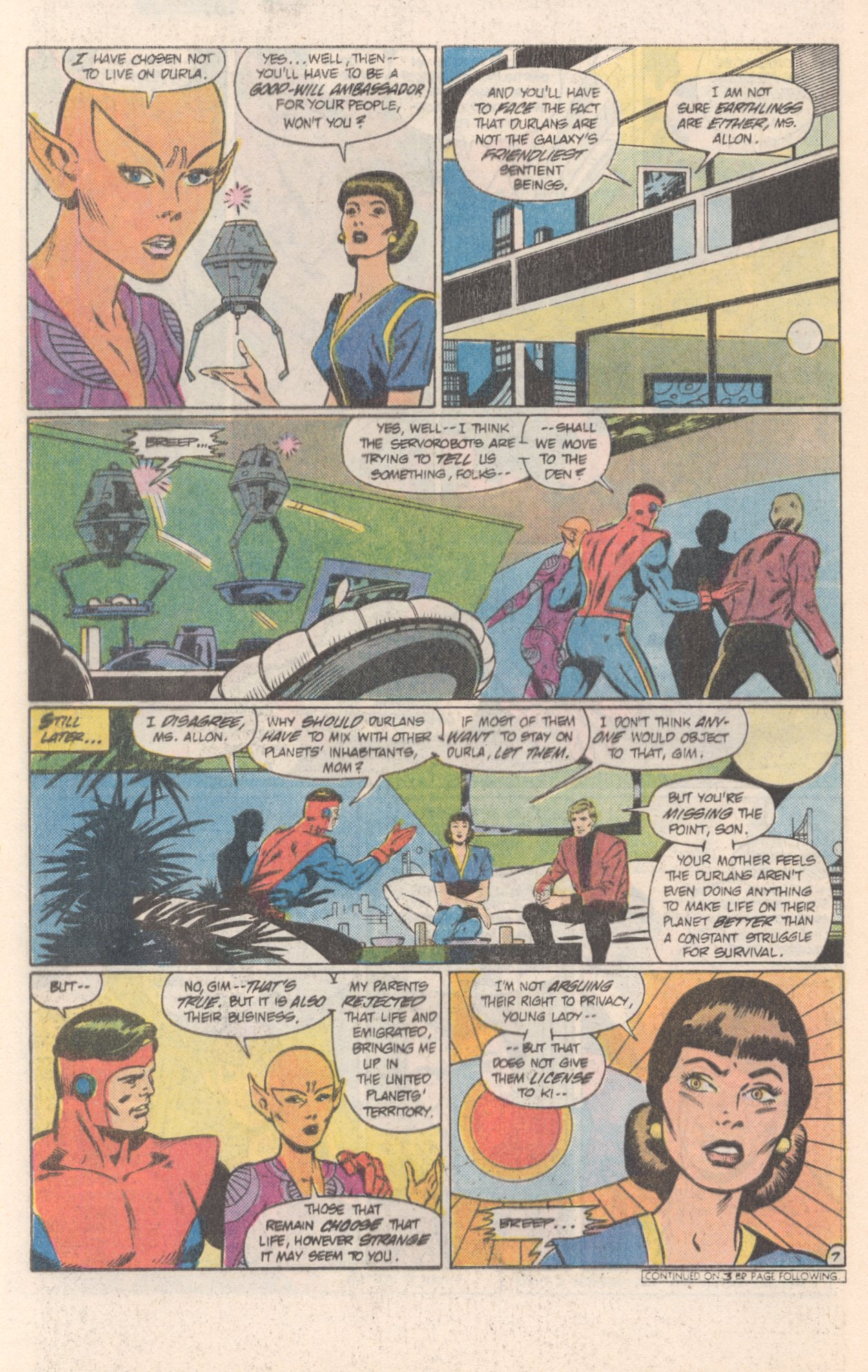Legion of Super-Heroes (1980) 308 Page 21