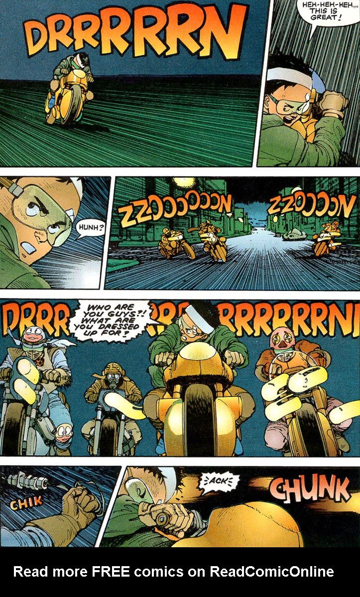 Read online Akira comic -  Issue #3 - 9