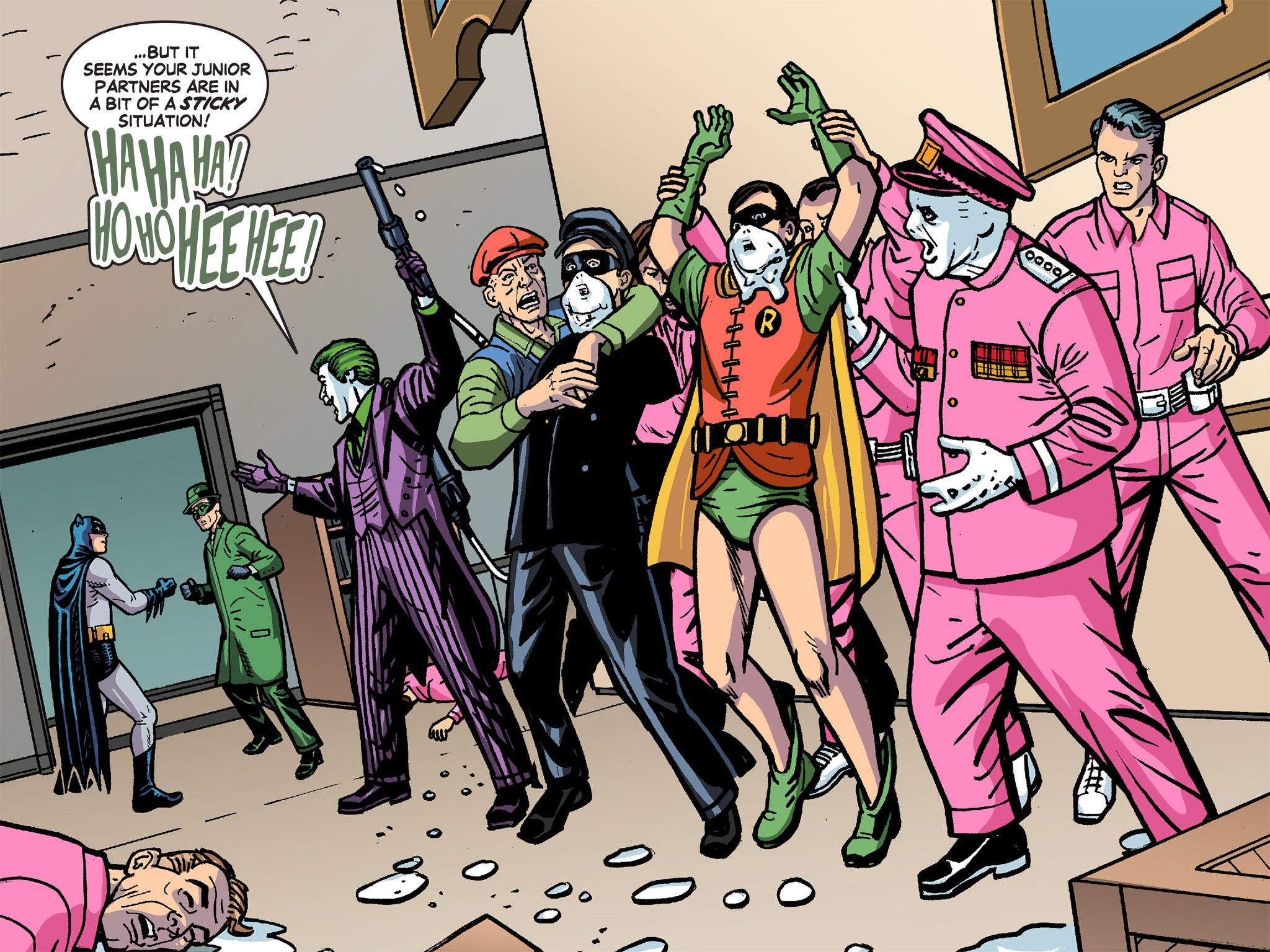 Read online Batman '66 Meets the Green Hornet [II] comic -  Issue #4 - 114