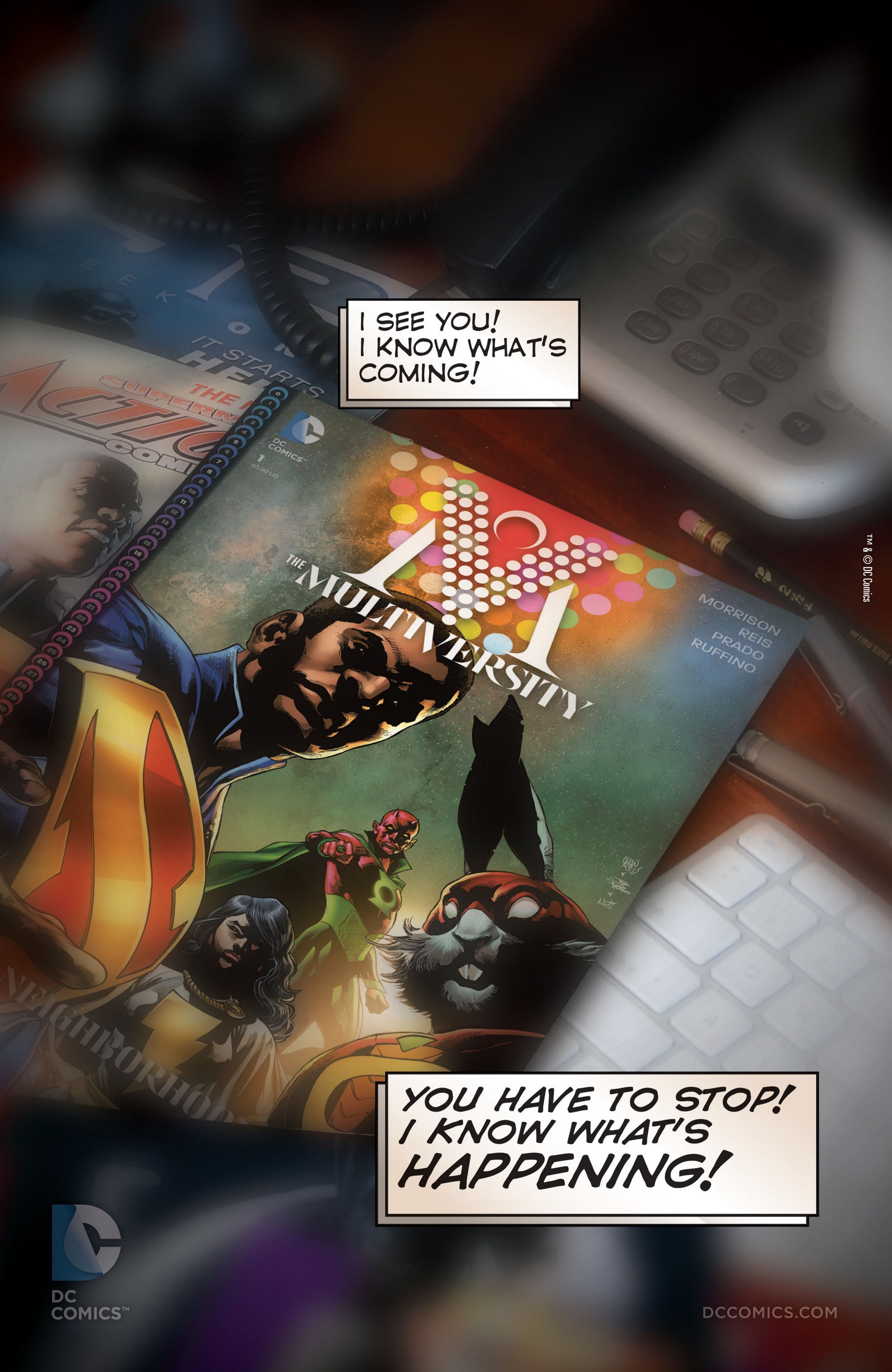 Read online Trinity of Sin: The Phantom Stranger comic -  Issue #22 - 24