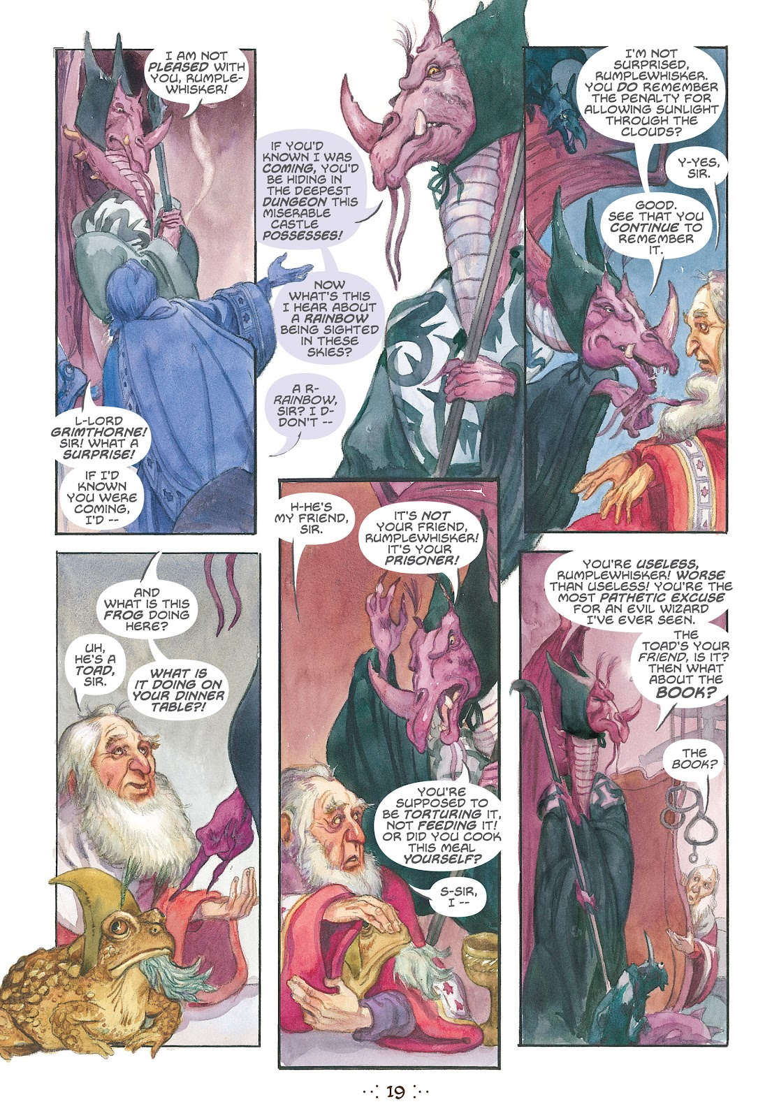 Read online The Wizard's Tale comic -  Issue # TPB - 18