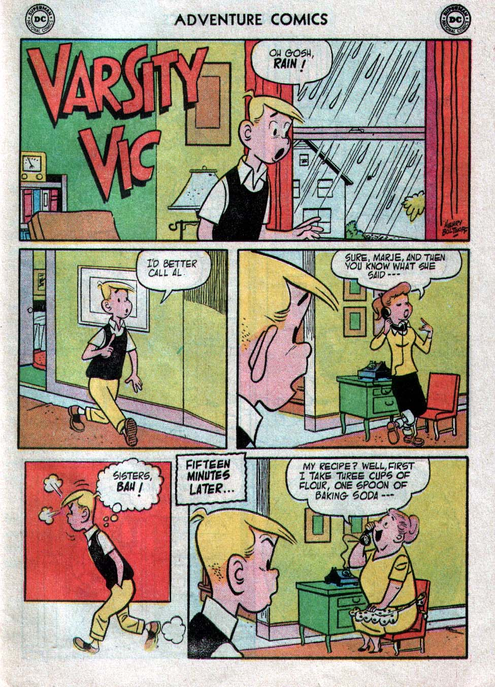 Read online Adventure Comics (1938) comic -  Issue #223 - 23