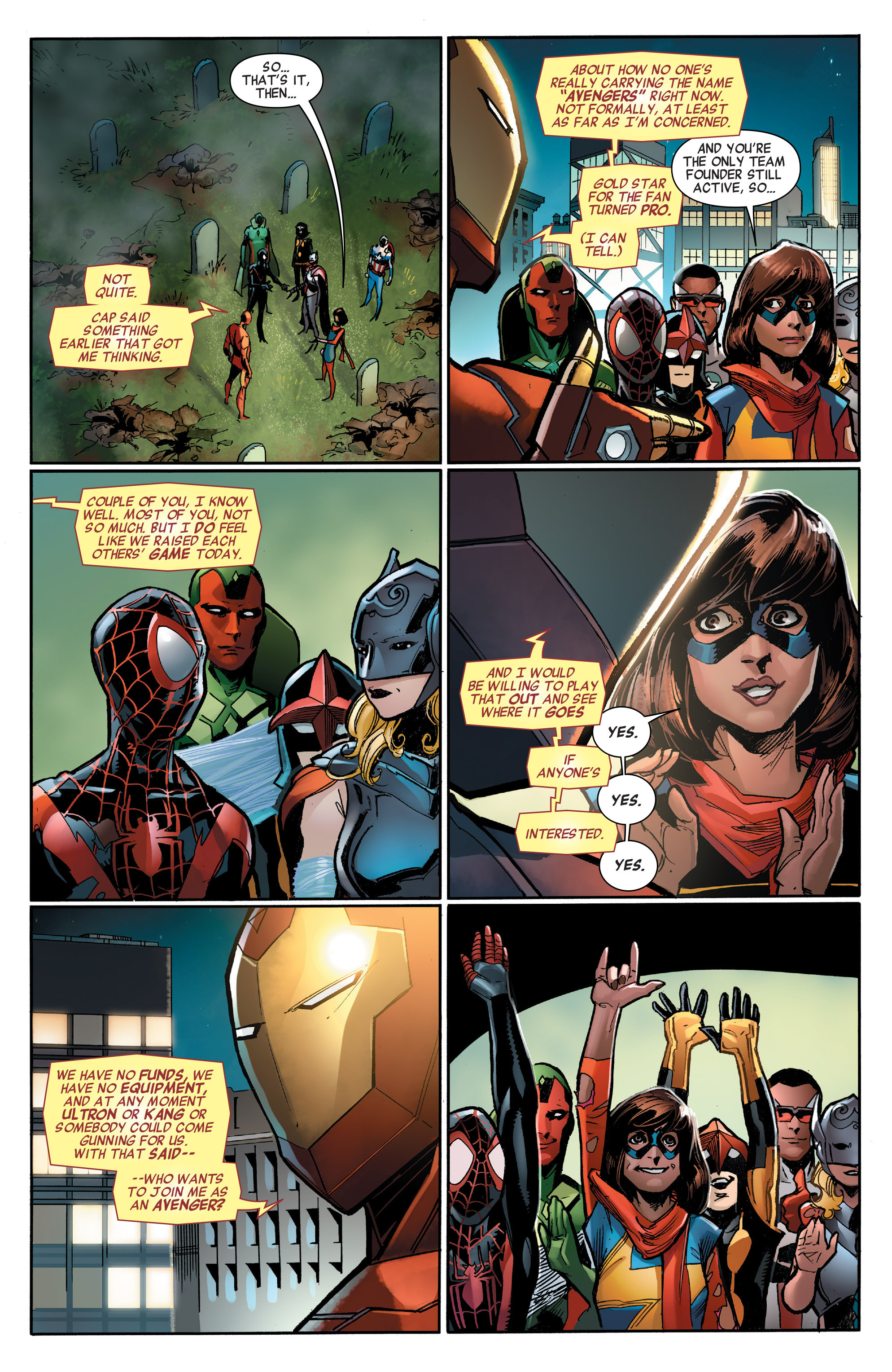 Read online All-New, All-Different Avengers comic -  Issue #3 - 19