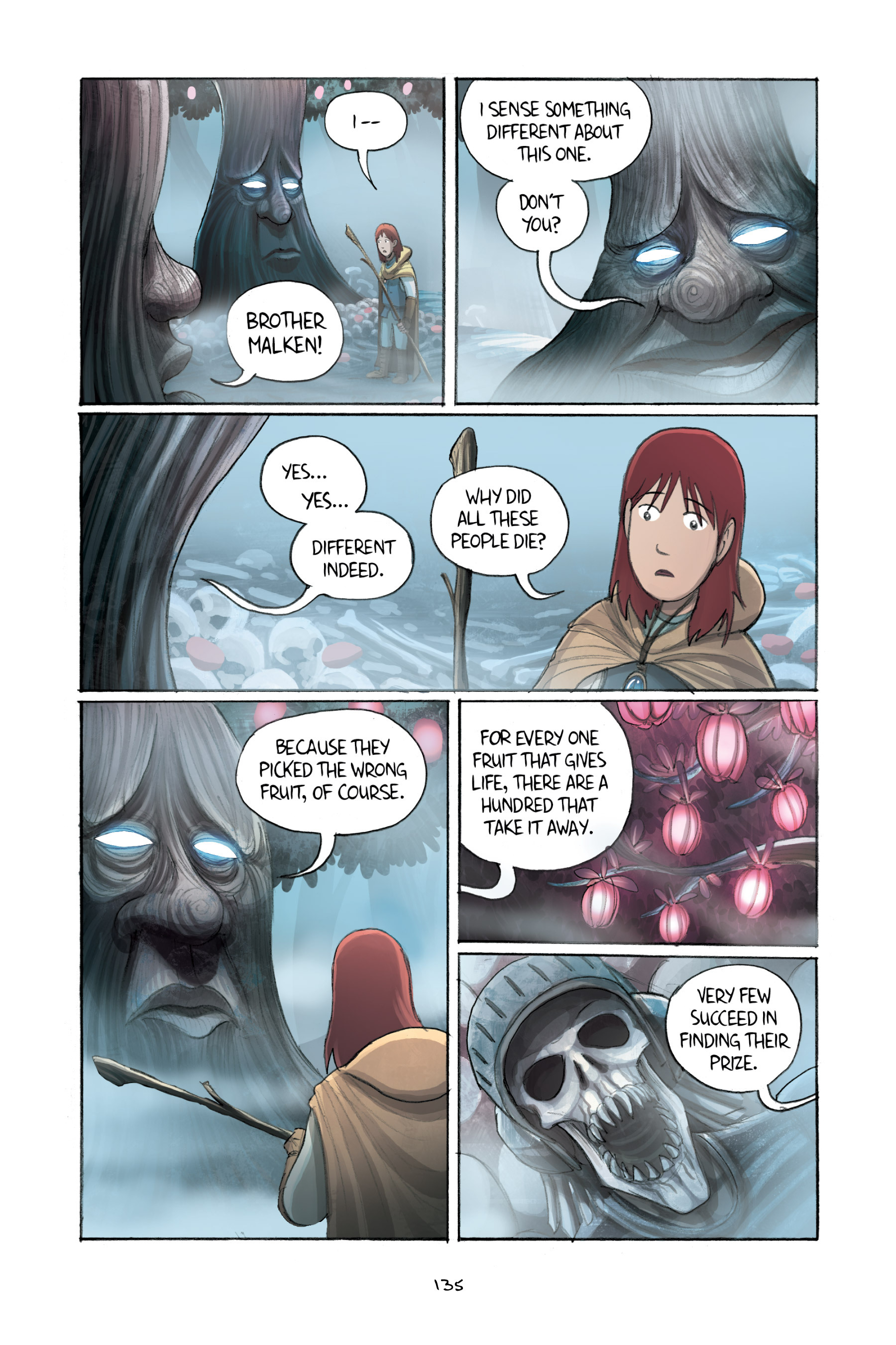Read online Amulet comic -  Issue #2 - 134