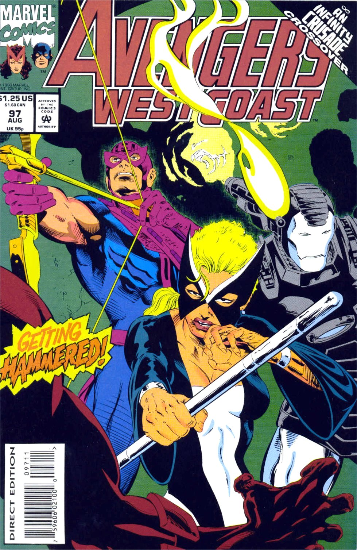 Avengers West Coast (1989) 97 Page 1