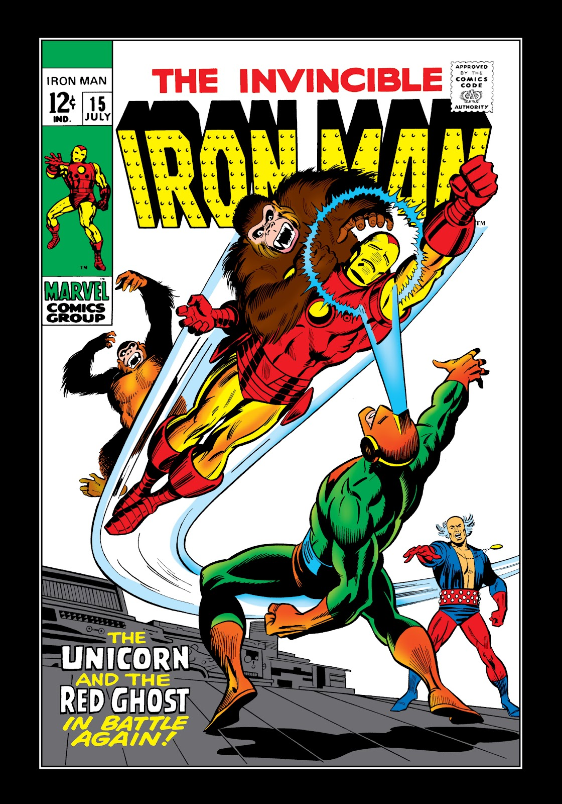 Read online Marvel Masterworks: The Invincible Iron Man comic -  Issue # TPB 6 (Part 1) - 27