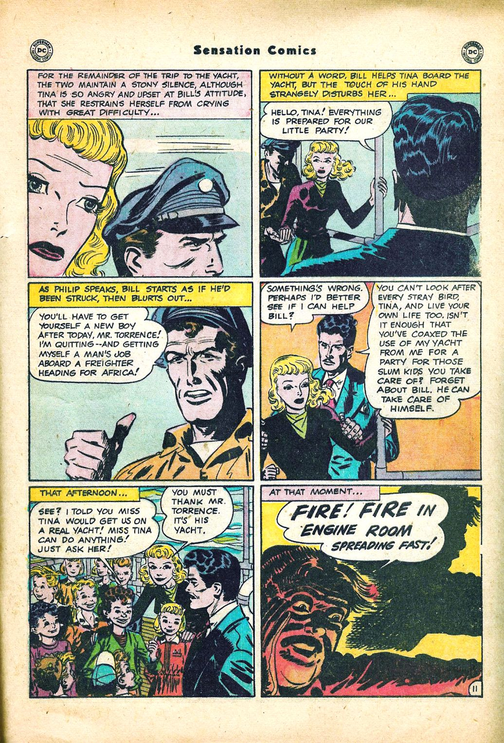 Read online Sensation (Mystery) Comics comic -  Issue #95 - 47