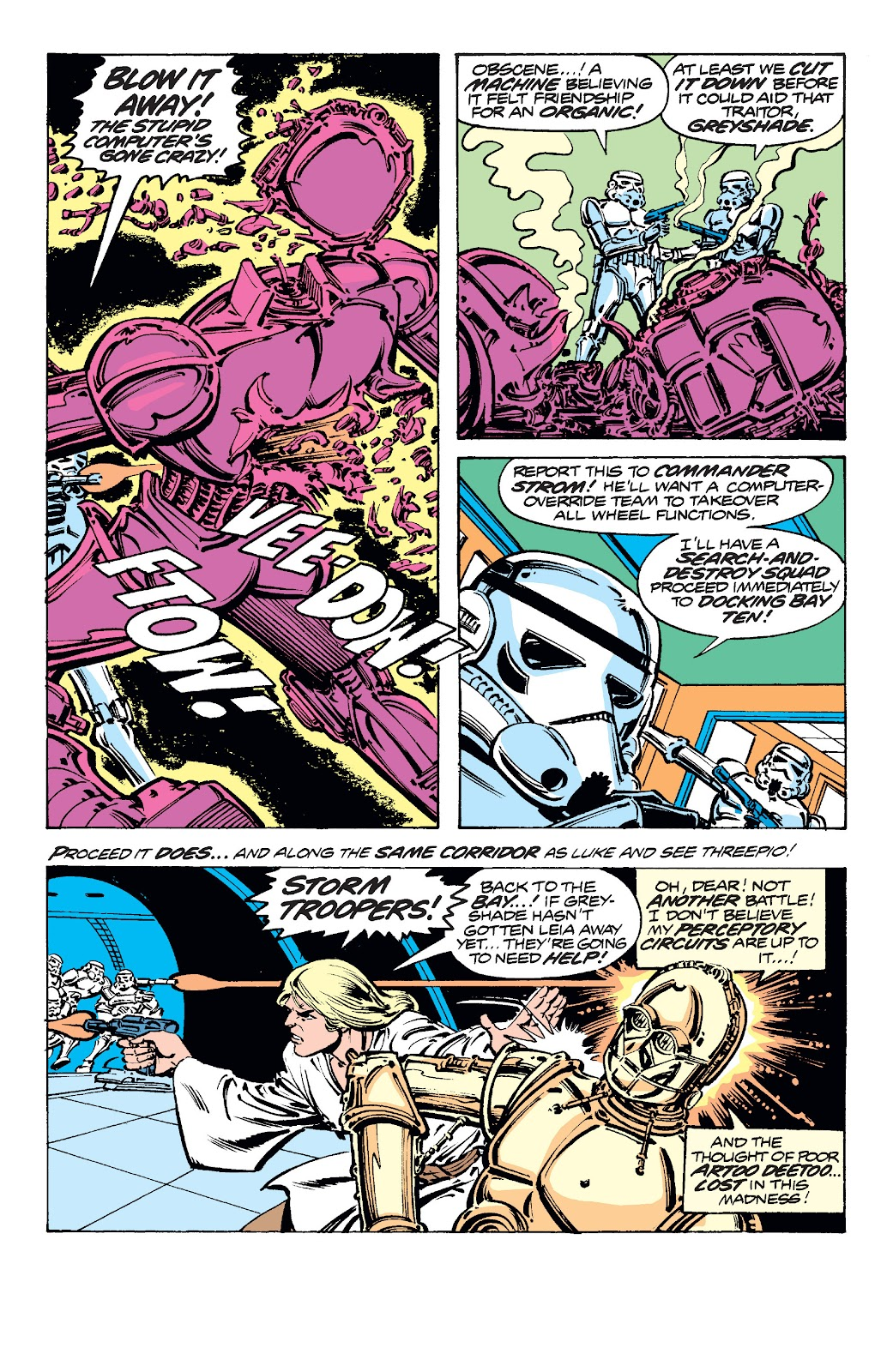 Read online Star Wars Legends: The Original Marvel Years - Epic Collection comic -  Issue # TPB 1 (Part 5) - 10