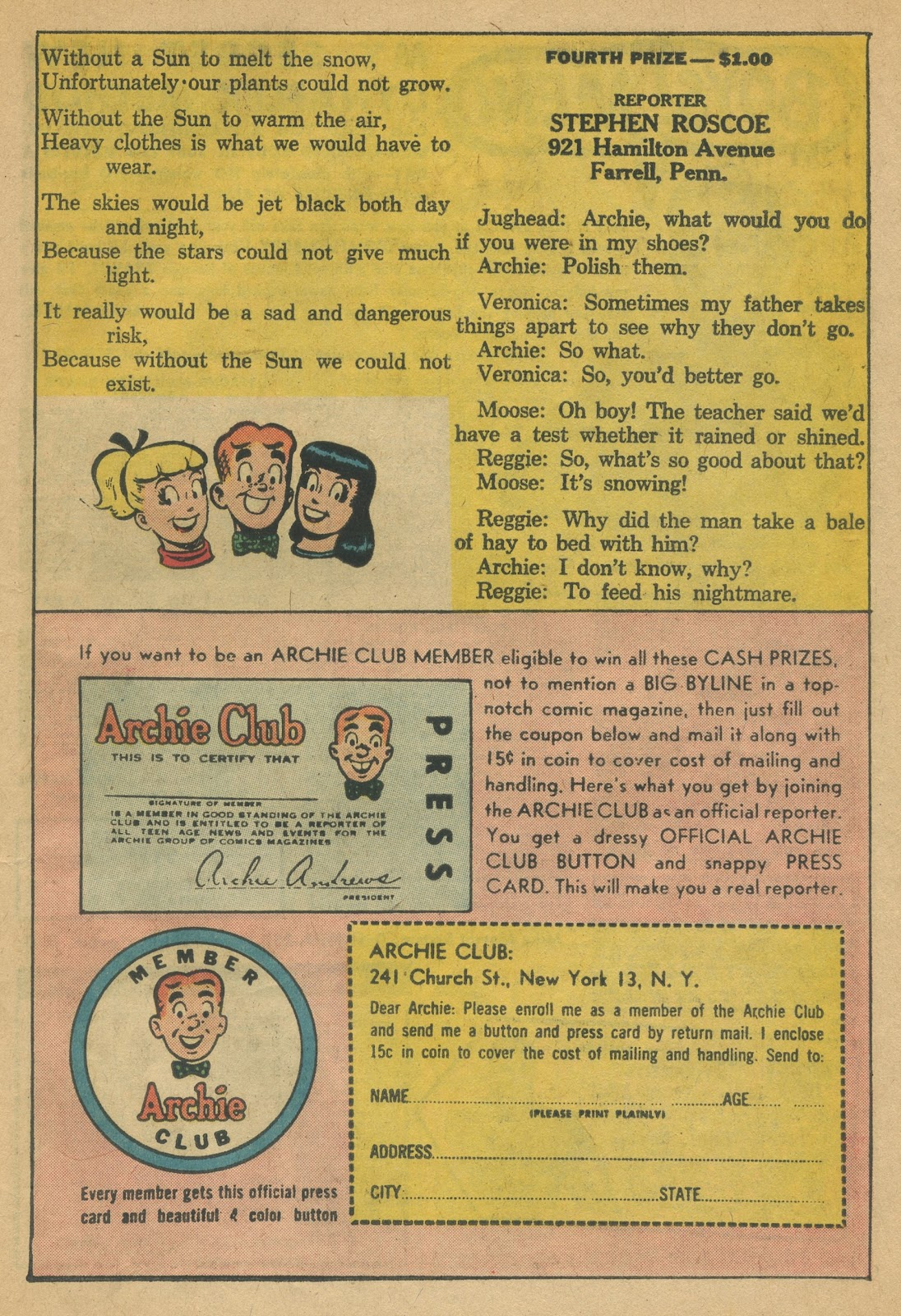 Read online Archie (1960) comic -  Issue #152 - 27