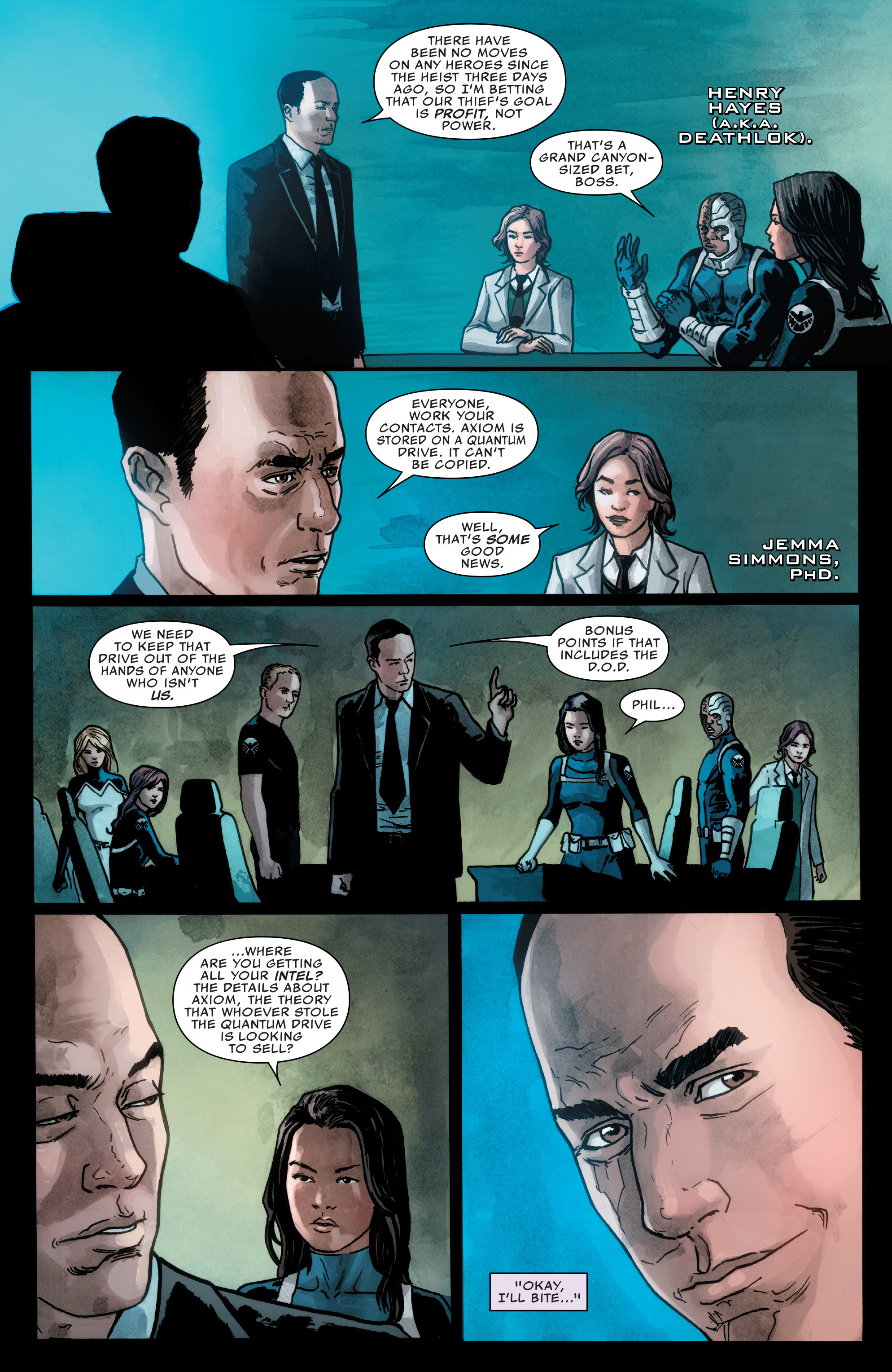 Read online Agents of S.H.I.E.L.D. comic -  Issue #2 - 6
