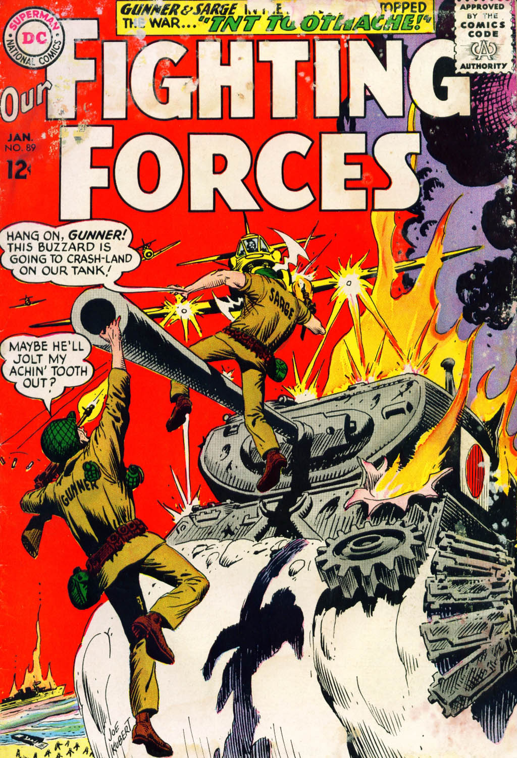 Our Fighting Forces (1954) issue 89 - Page 1
