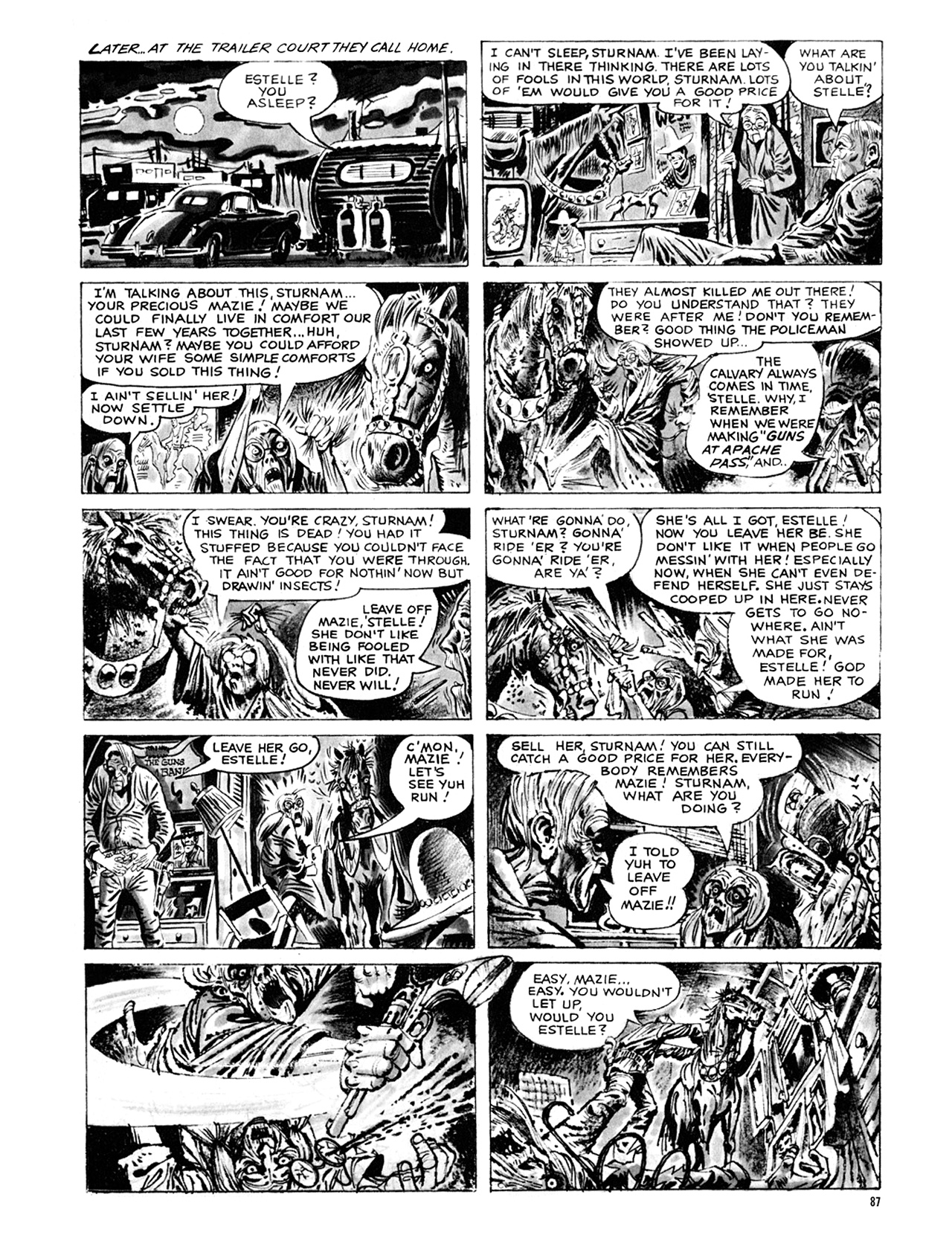 Read online Eerie Archives comic -  Issue # TPB 9 - 88
