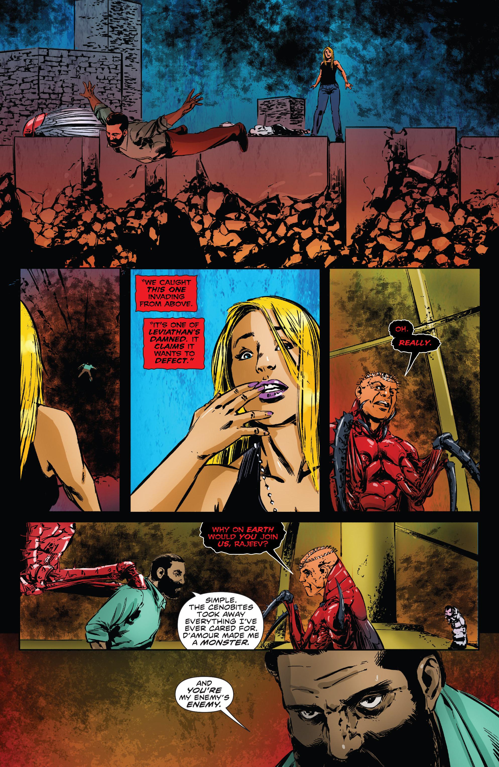 Read online Clive Barker's Hellraiser: The Dark Watch comic -  Issue # TPB 3 - 57