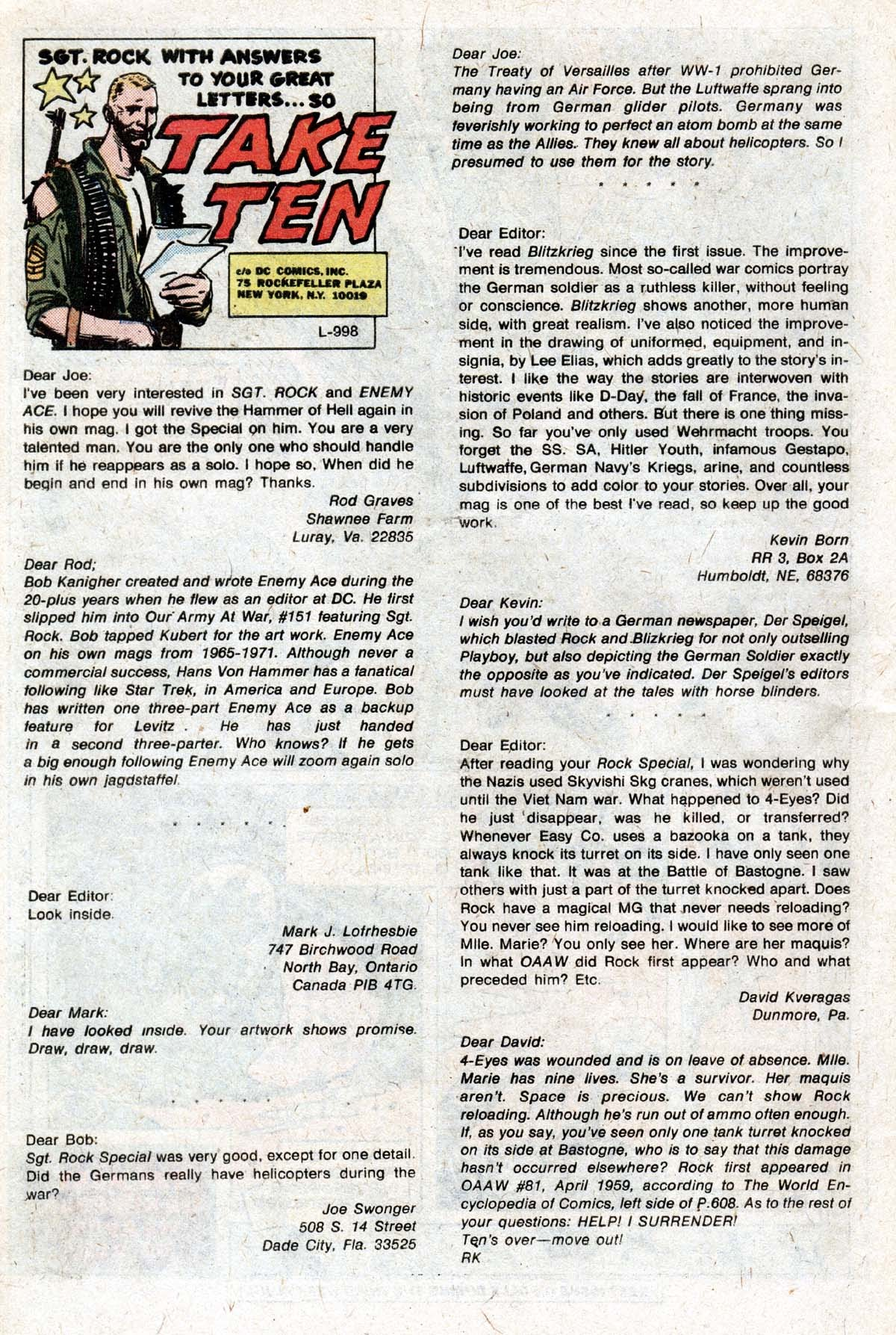 Read online Sgt. Rock comic -  Issue #320 - 30
