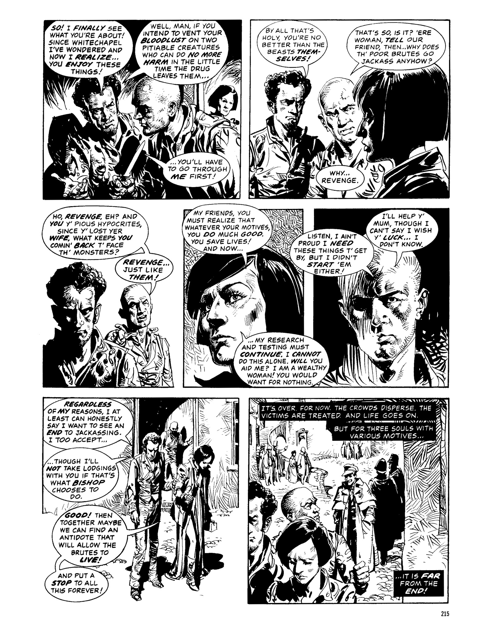 Read online Eerie Archives comic -  Issue # TPB 13 - 216