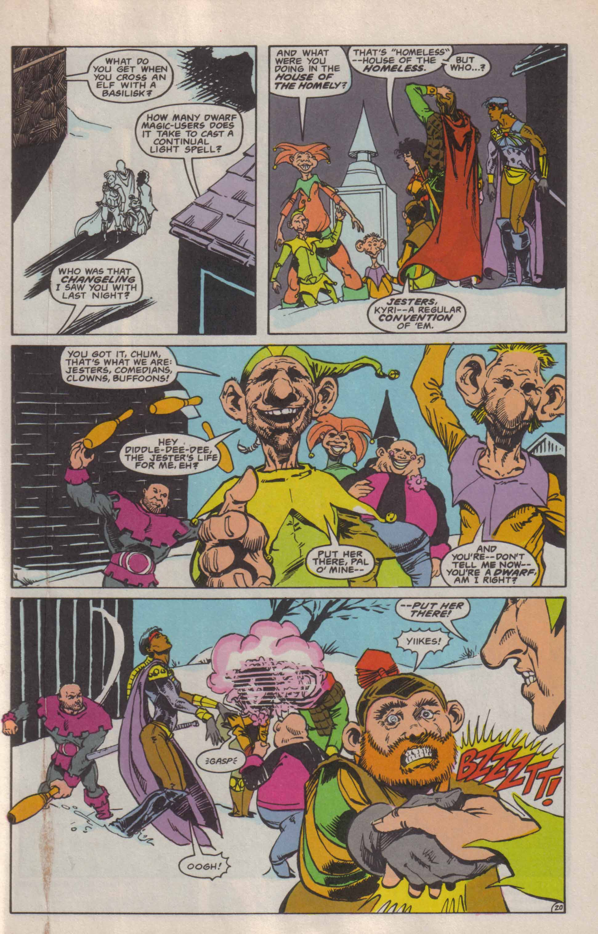 Read online Advanced Dungeons & Dragons comic -  Issue #6 - 21