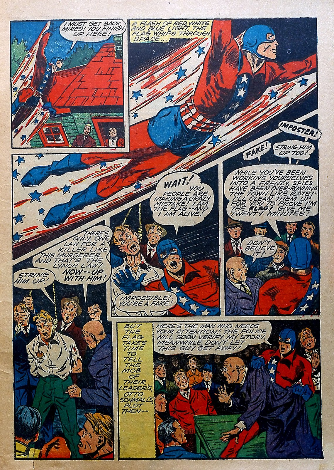 Our Flag Comics issue 5 - Page 12