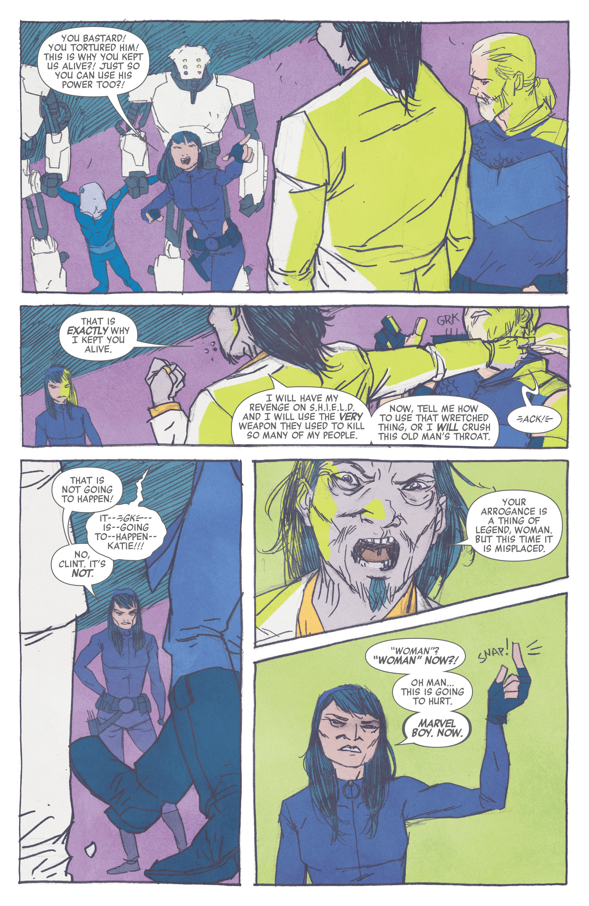Read online All-New Hawkeye (2016) comic -  Issue #2 - 13