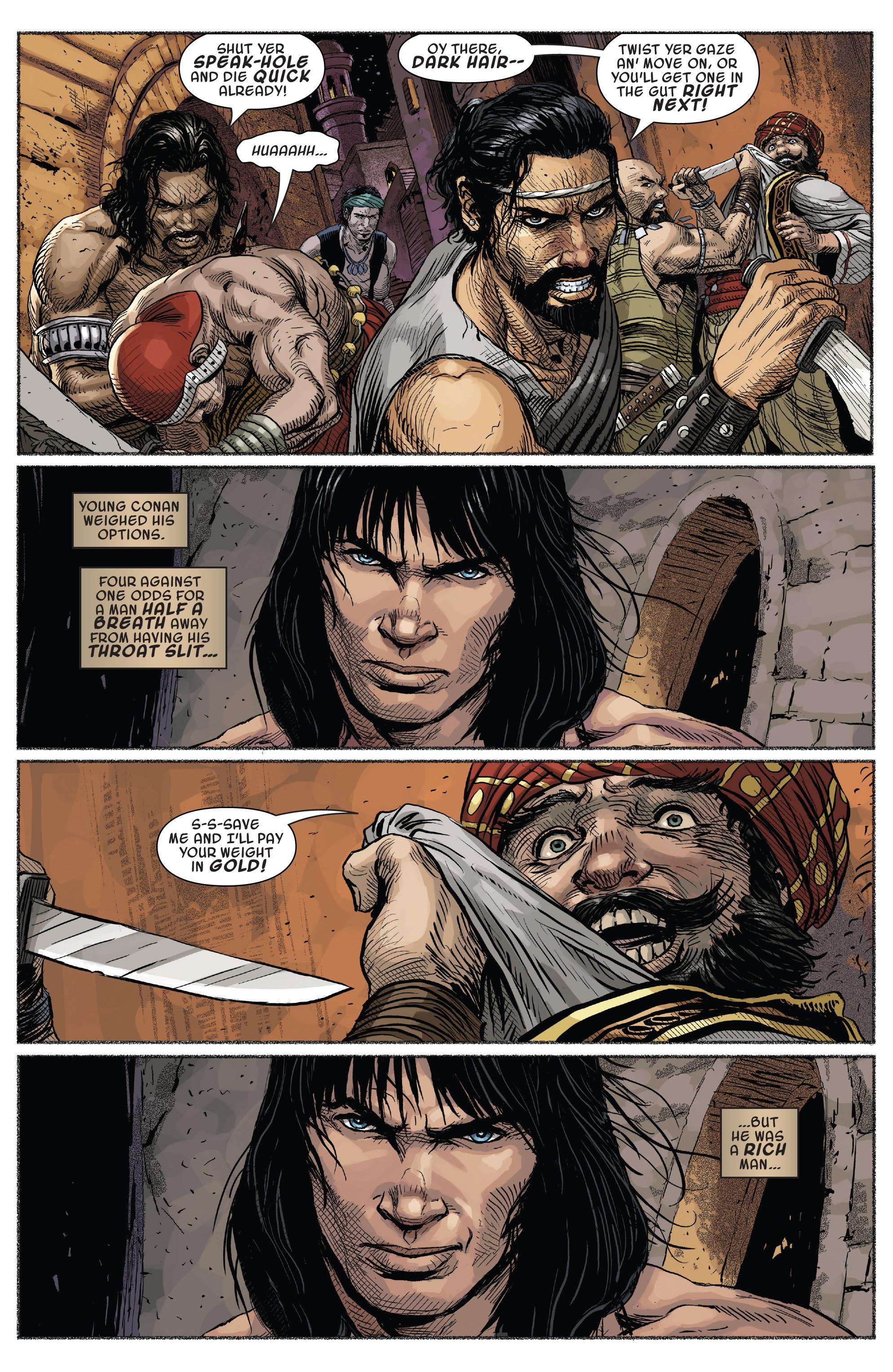 Read online Savage Sword of Conan comic -  Issue #7 - 5